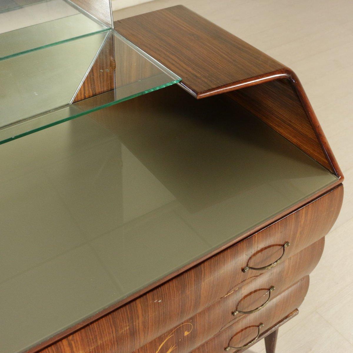 vintage kommode mit spiegel bei pamono kaufen. Black Bedroom Furniture Sets. Home Design Ideas