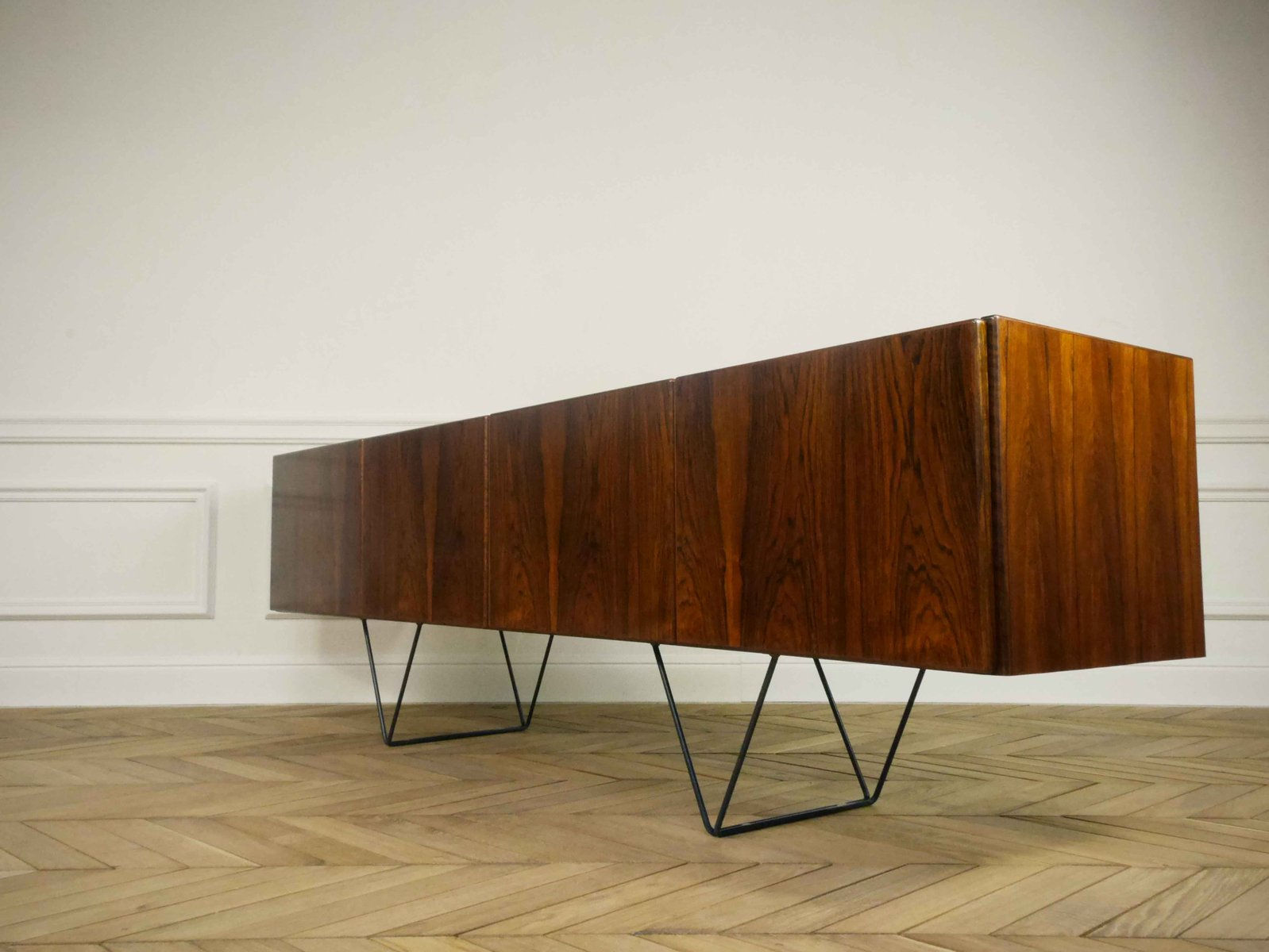 Minimalist rosewood sideboard 1960s for sale at pamono for Minimalist art 1960