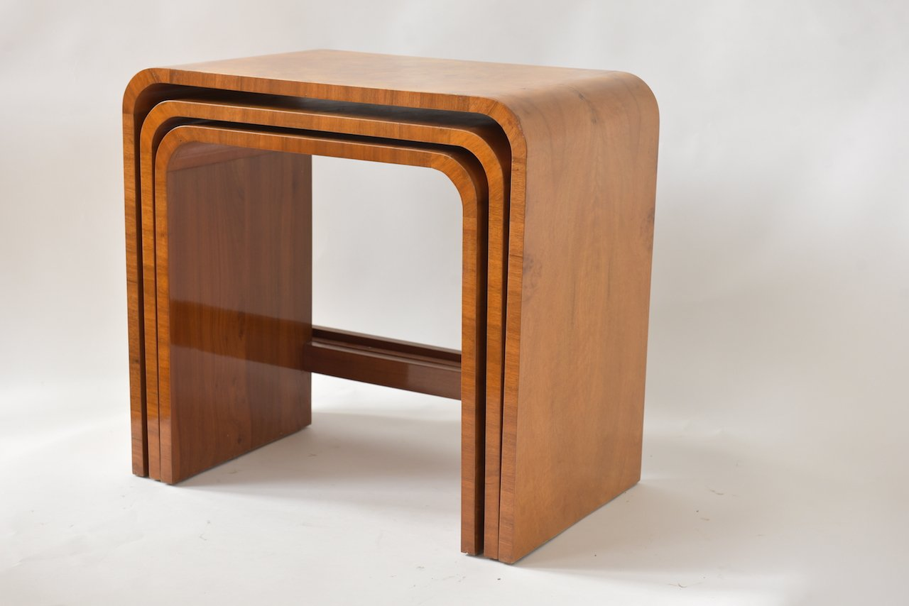 Art Déco Nesting Tables from Hille, 1920s for sale at Pamono