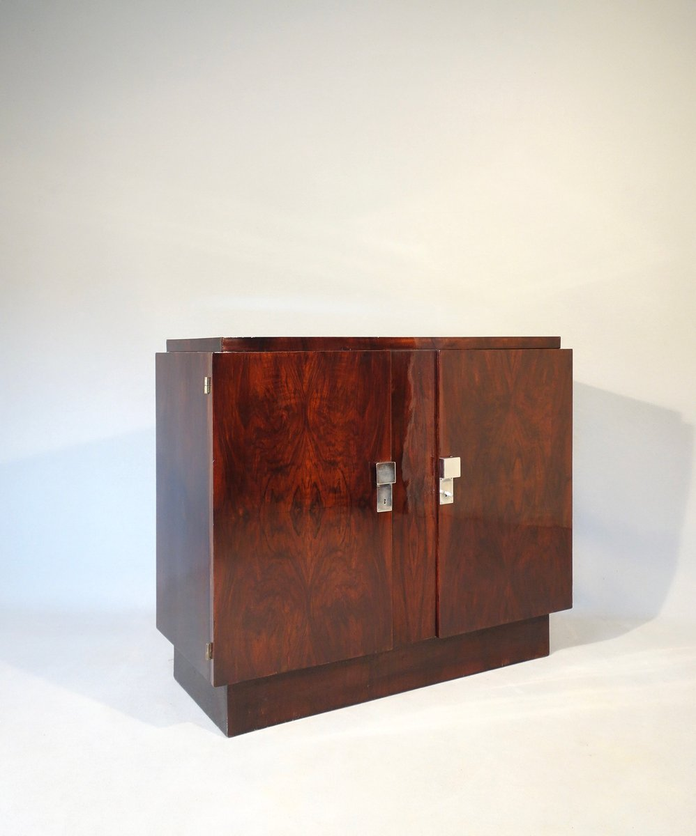 Art deco buffet from gu rin 1930s for sale at pamono for Miroir art deco 1930
