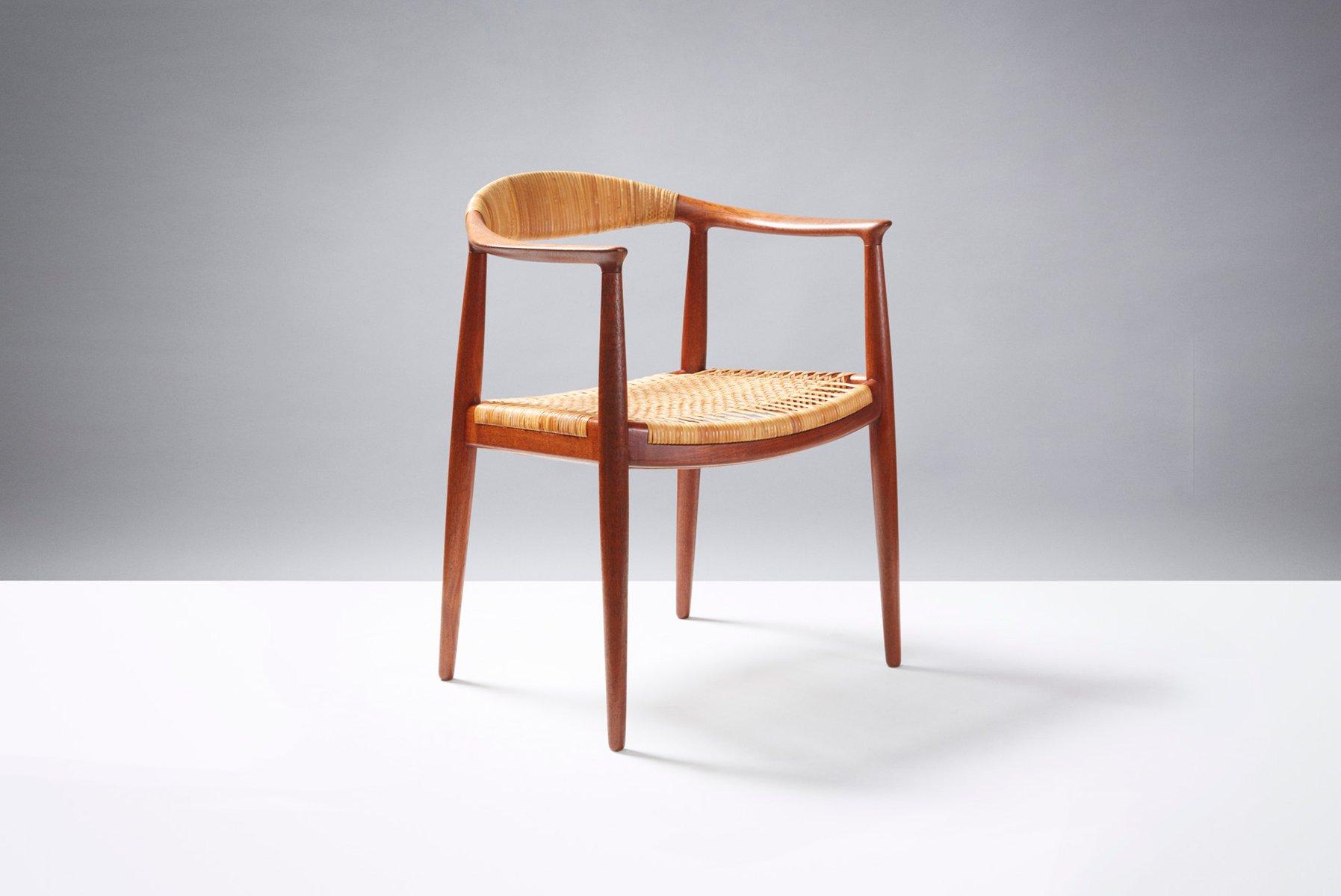 chaise de bureau mod le jh 501 par hans j wegner pour. Black Bedroom Furniture Sets. Home Design Ideas