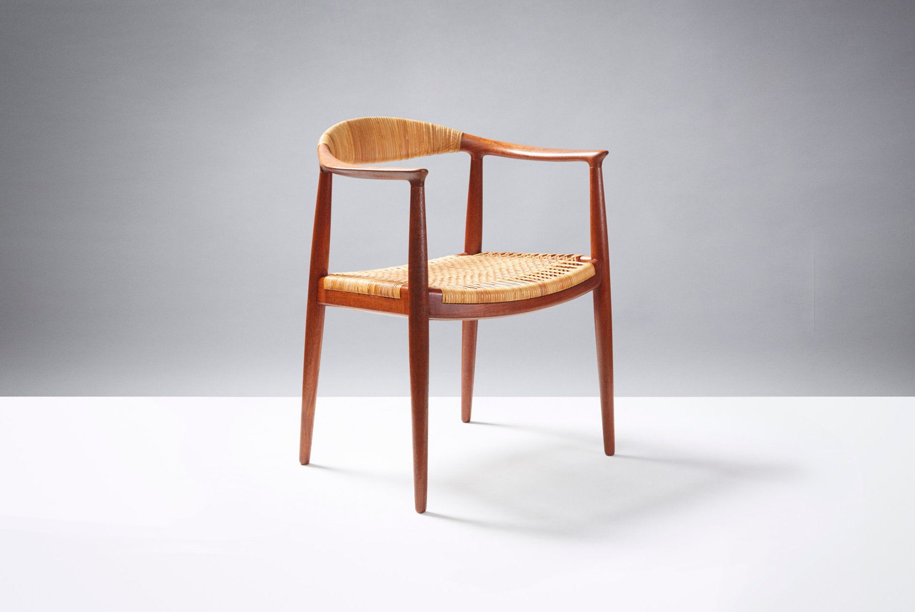 Model JH 501 The Chair Desk Chair by Hans J Wegner for Johannes