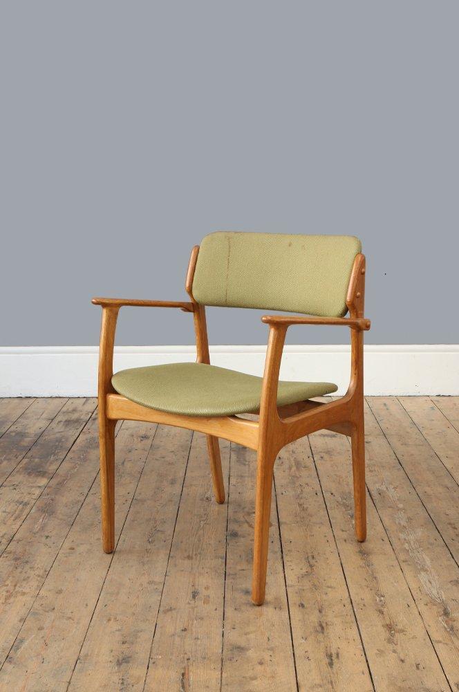 Modell 50 stuhl aus eiche von erik buch for o d mobler as for Stuhl design buch