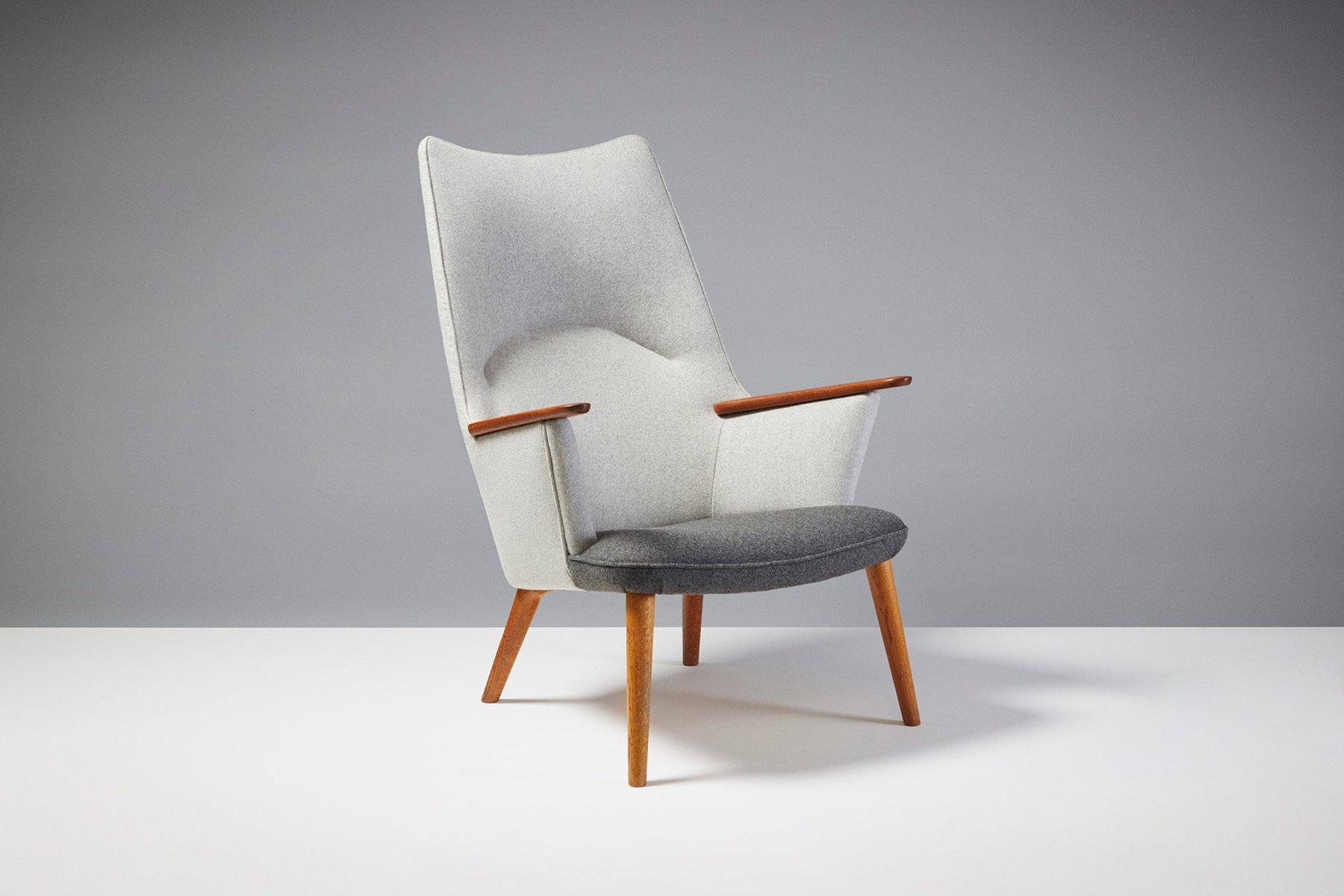 fauteuil ap 27 par hans j wegner pour a p stolen 1950s. Black Bedroom Furniture Sets. Home Design Ideas