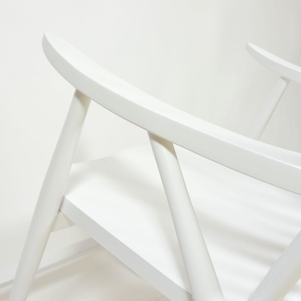 tschechischer schaukelstuhl in wei 1960er bei pamono kaufen. Black Bedroom Furniture Sets. Home Design Ideas