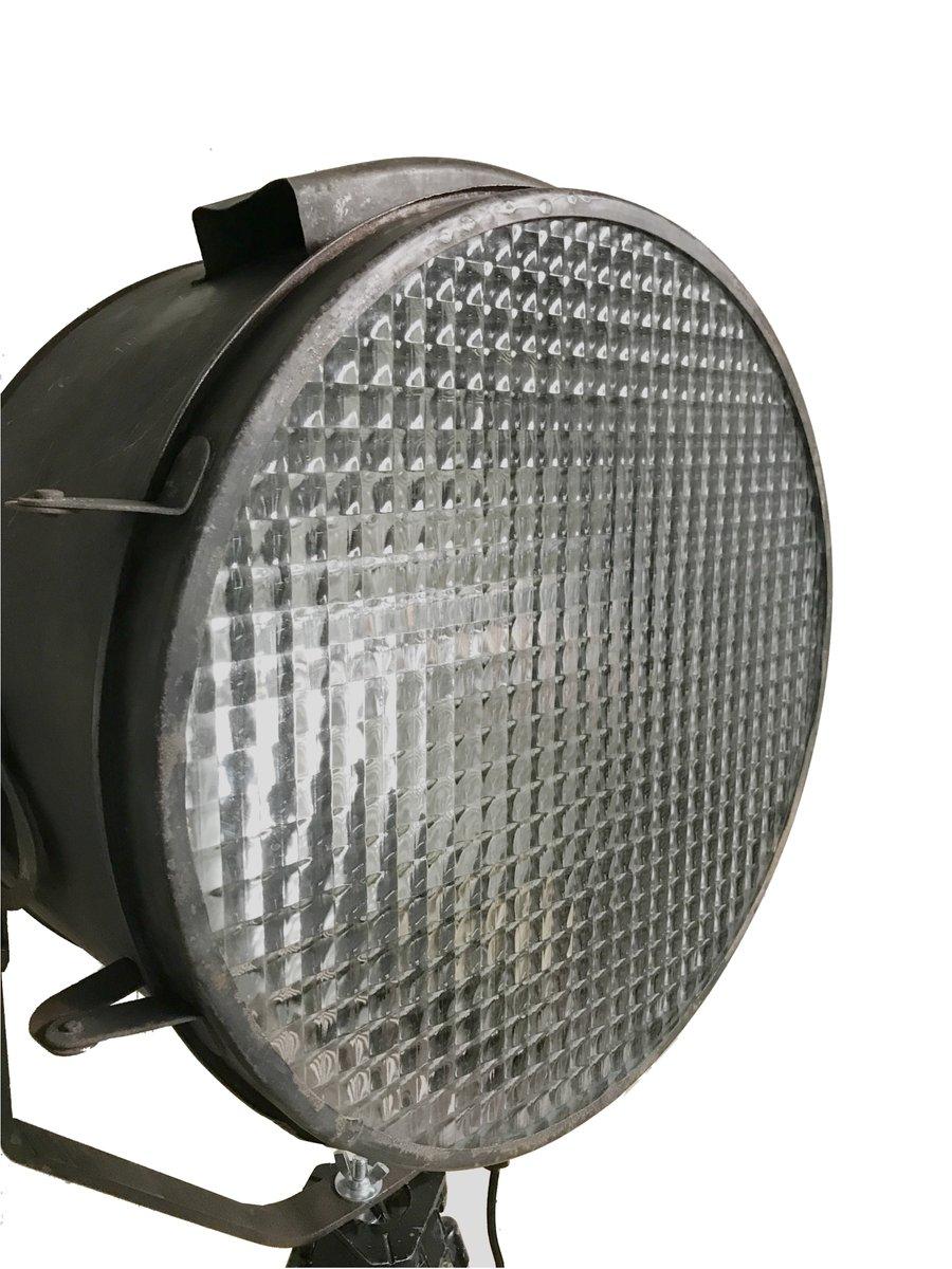 industrielle scheinwerfer stehlampe 1960er bei pamono kaufen. Black Bedroom Furniture Sets. Home Design Ideas