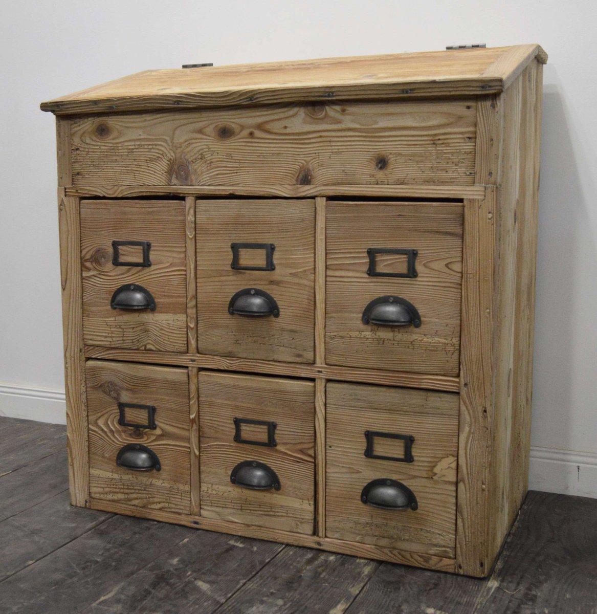 armoire d atelier vintage france en vente sur pamono. Black Bedroom Furniture Sets. Home Design Ideas