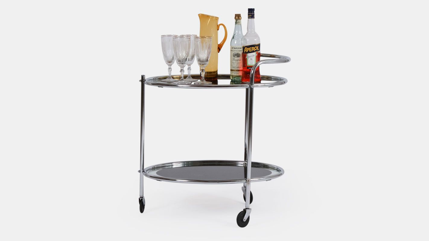 vintage drinks trolley
