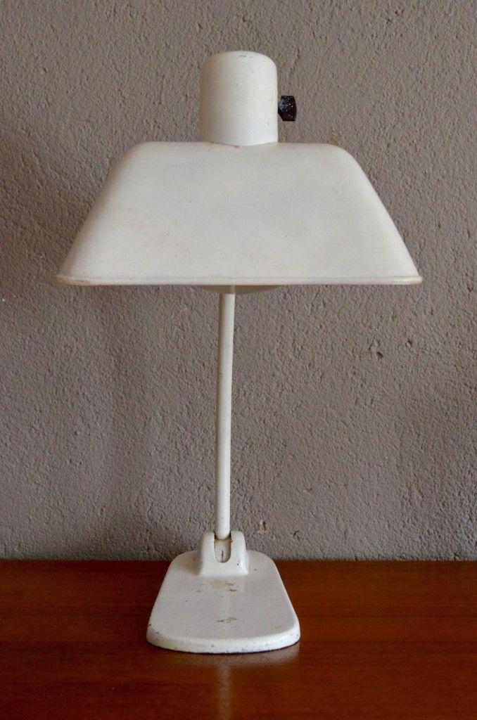 bauhaus metall schreibtischlampe von bag turgi 1930er bei pamono kaufen. Black Bedroom Furniture Sets. Home Design Ideas