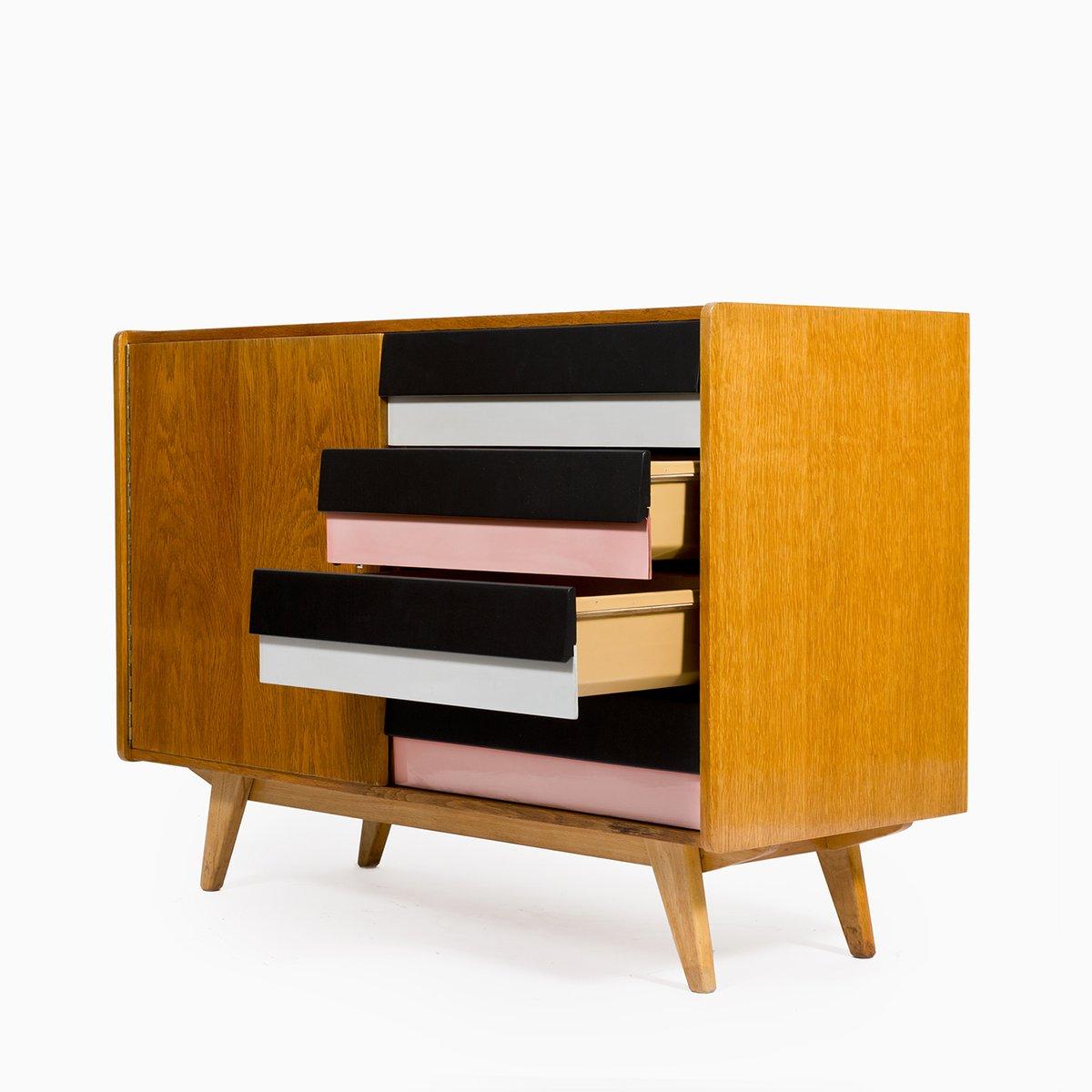 mid century kommode u 458 von jiri jiroutek f r interier praha bei pamono kaufen. Black Bedroom Furniture Sets. Home Design Ideas