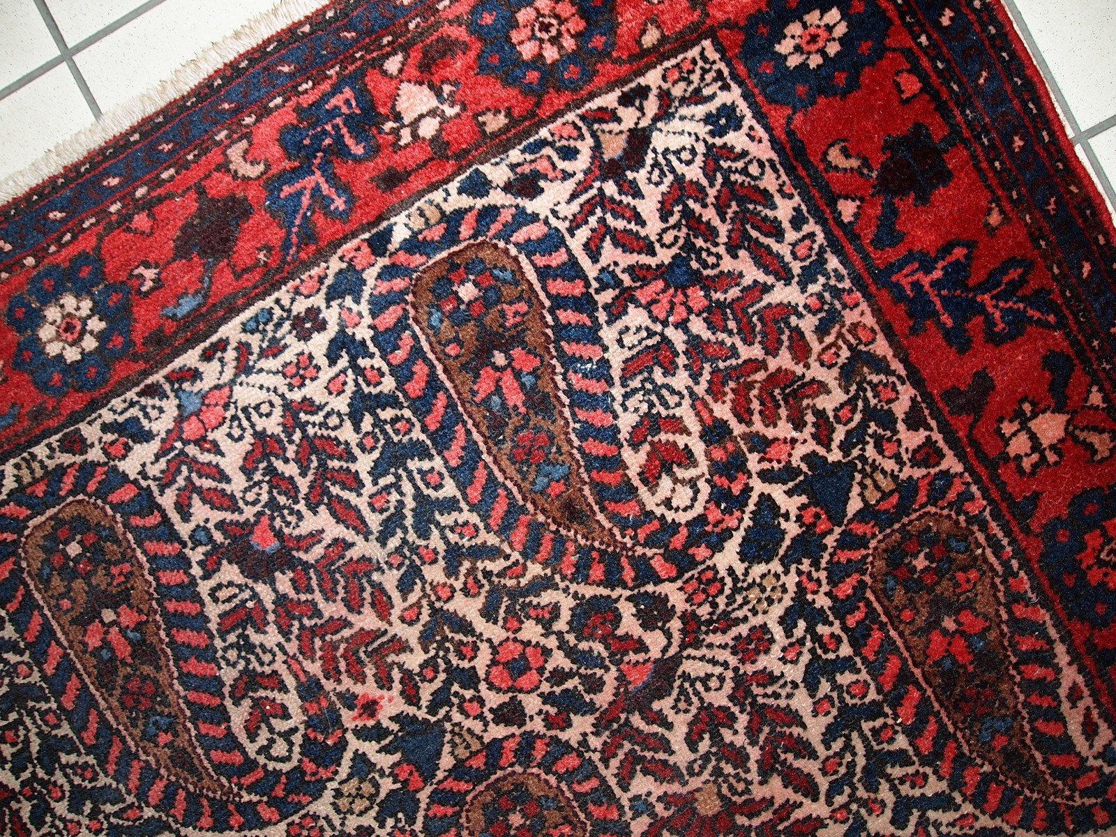 Berühmt Tapis Malayer Vintage Fait Main, Iran, 1950s en vente sur Pamono YM99
