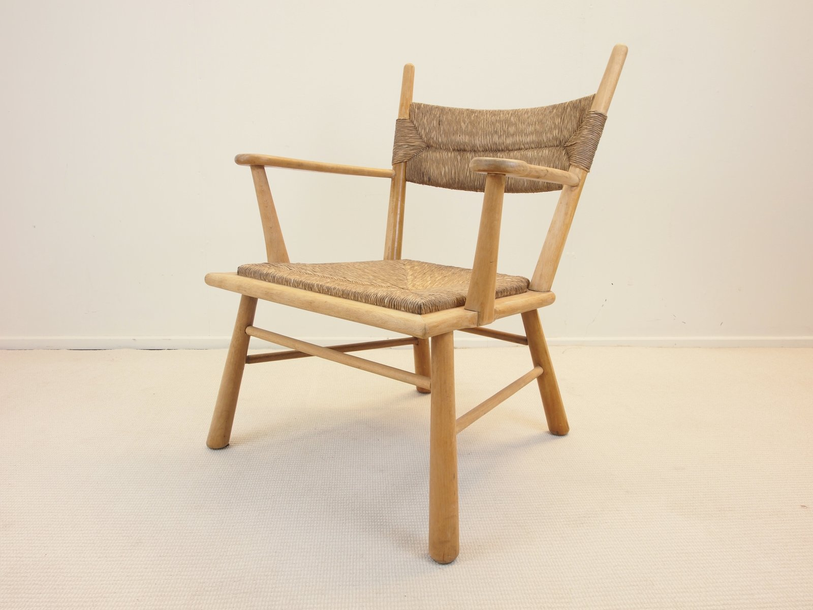 Mid century dutch easy chair for sale at pamono for Z chair mid century