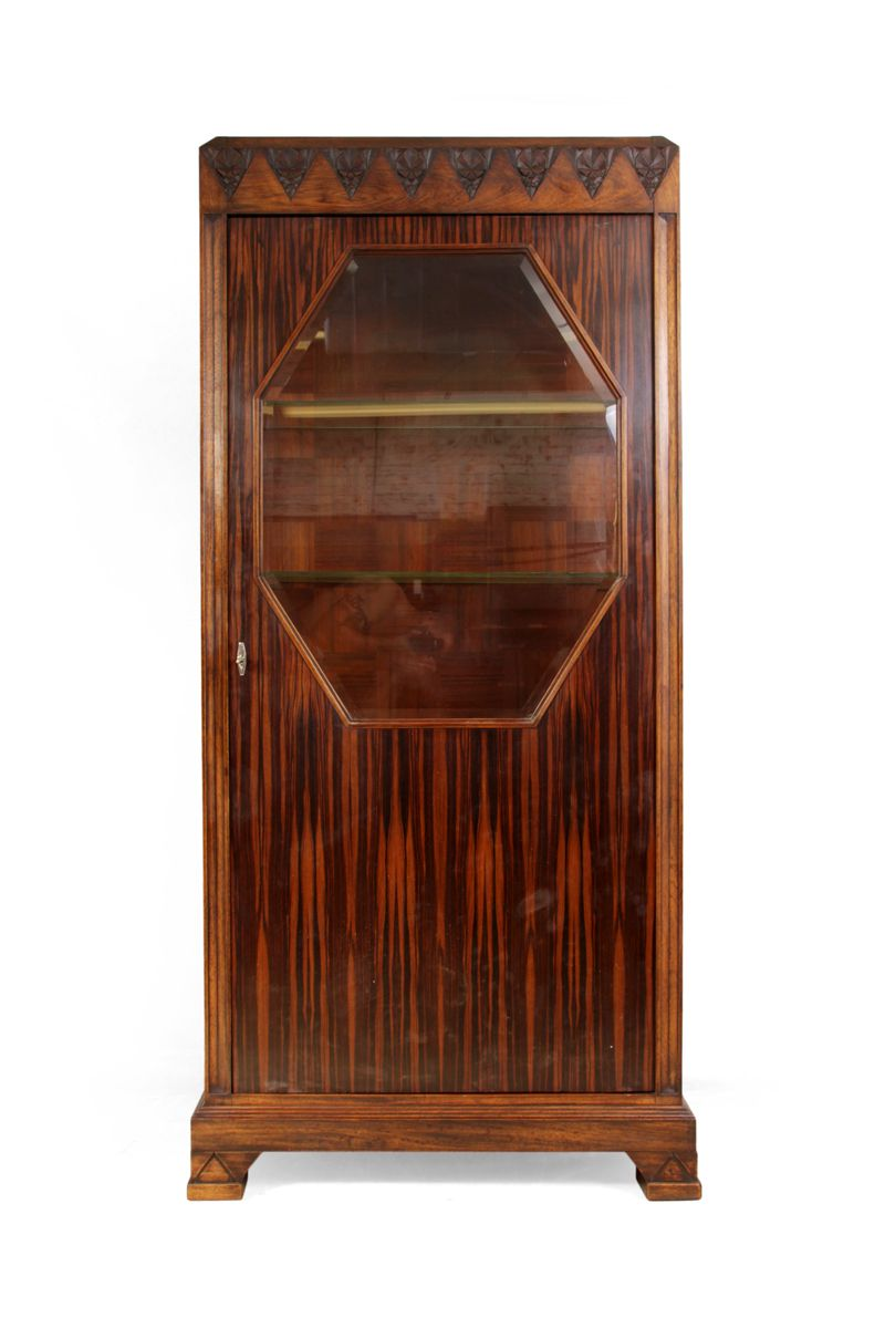 Art deco shop display cabinet 1930s for sale at pamono for Miroir art deco 1930