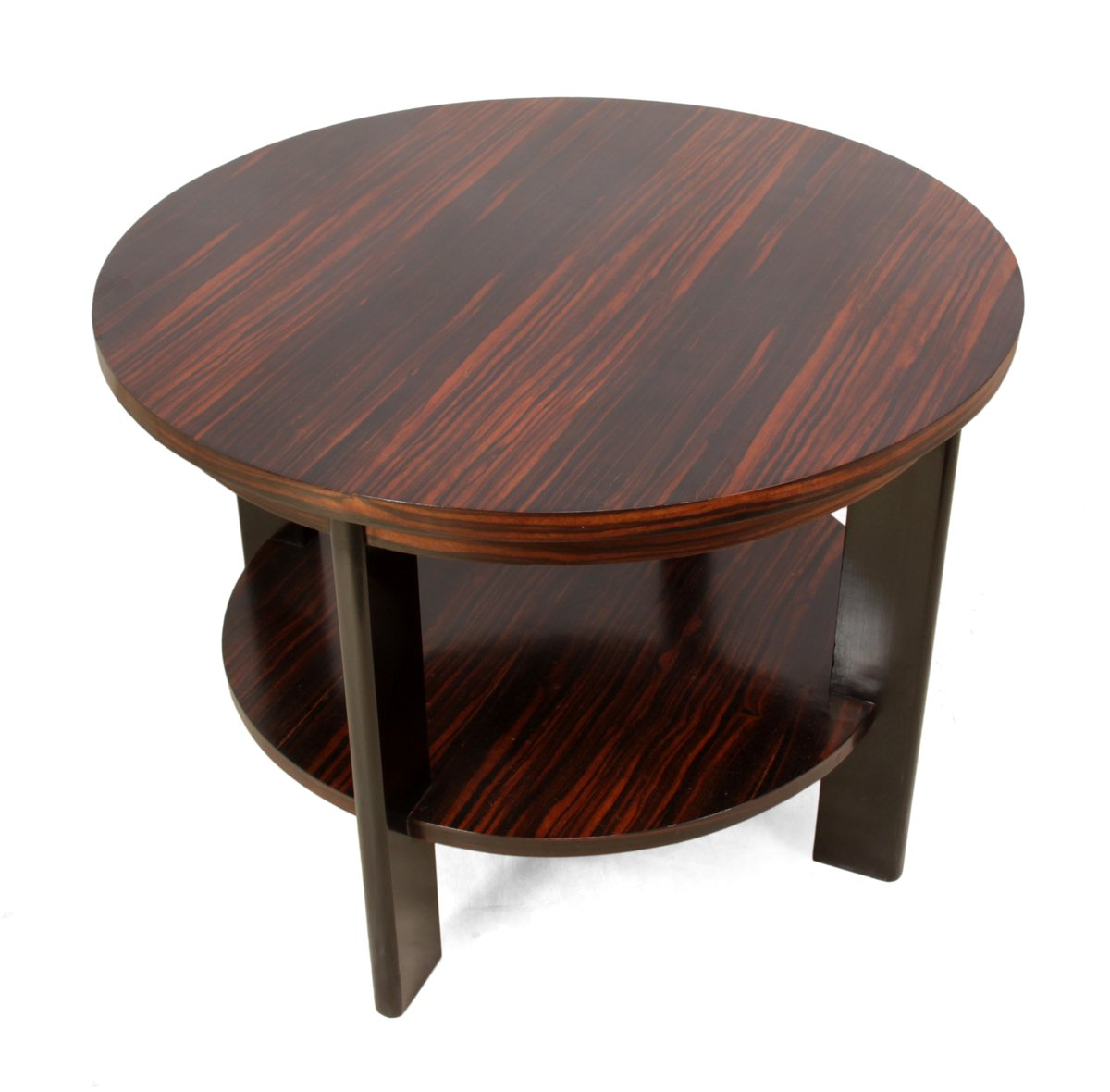 Art Deco Macassar Ebony Coffee Table 1930s For Sale At Pamono