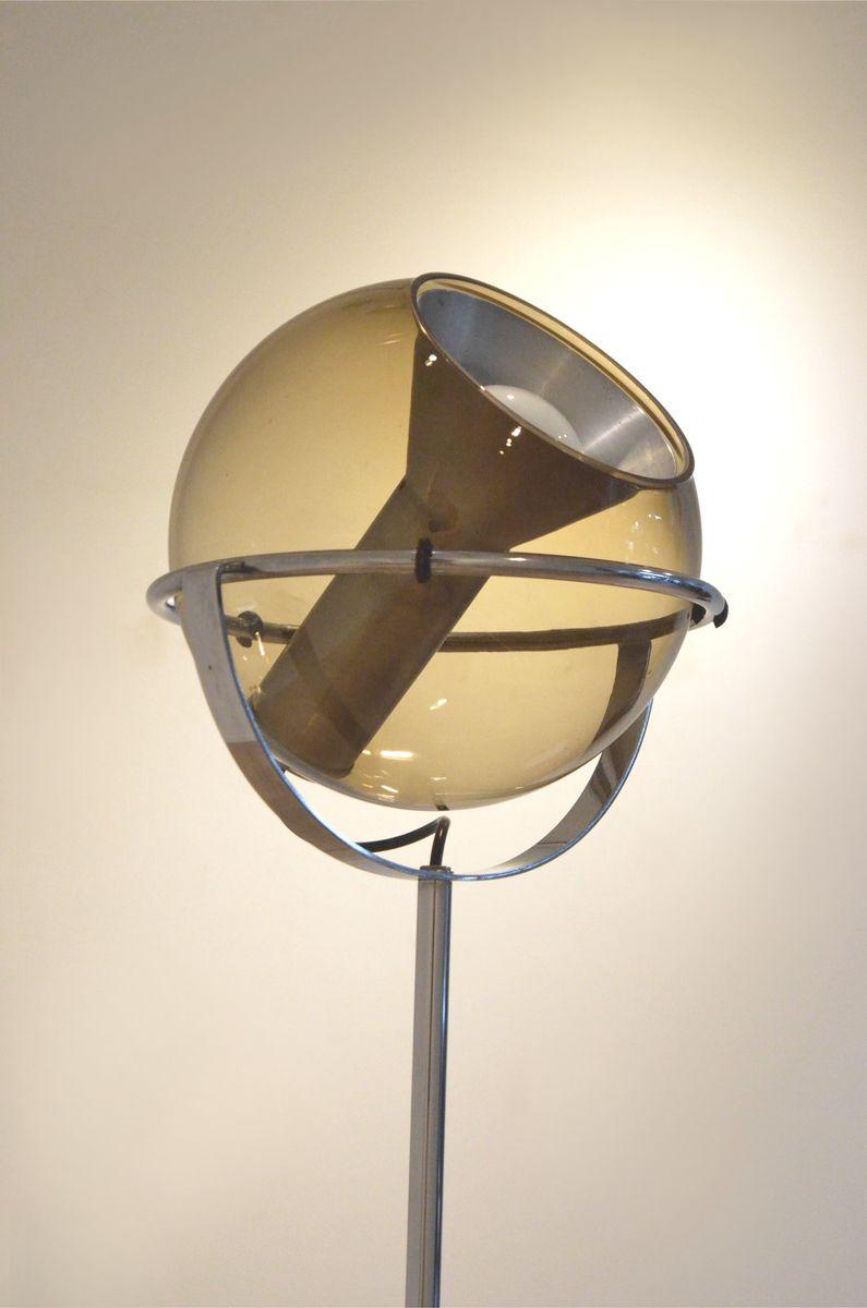 verstellbare kugel 2000 stehlampe von frank ligtelijn f r. Black Bedroom Furniture Sets. Home Design Ideas