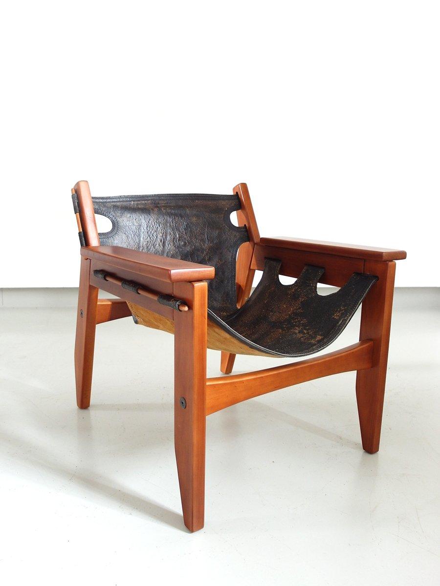 Brazilian Kilin Lounge Chair By Sergio Rodrigues For Oca, 1970s
