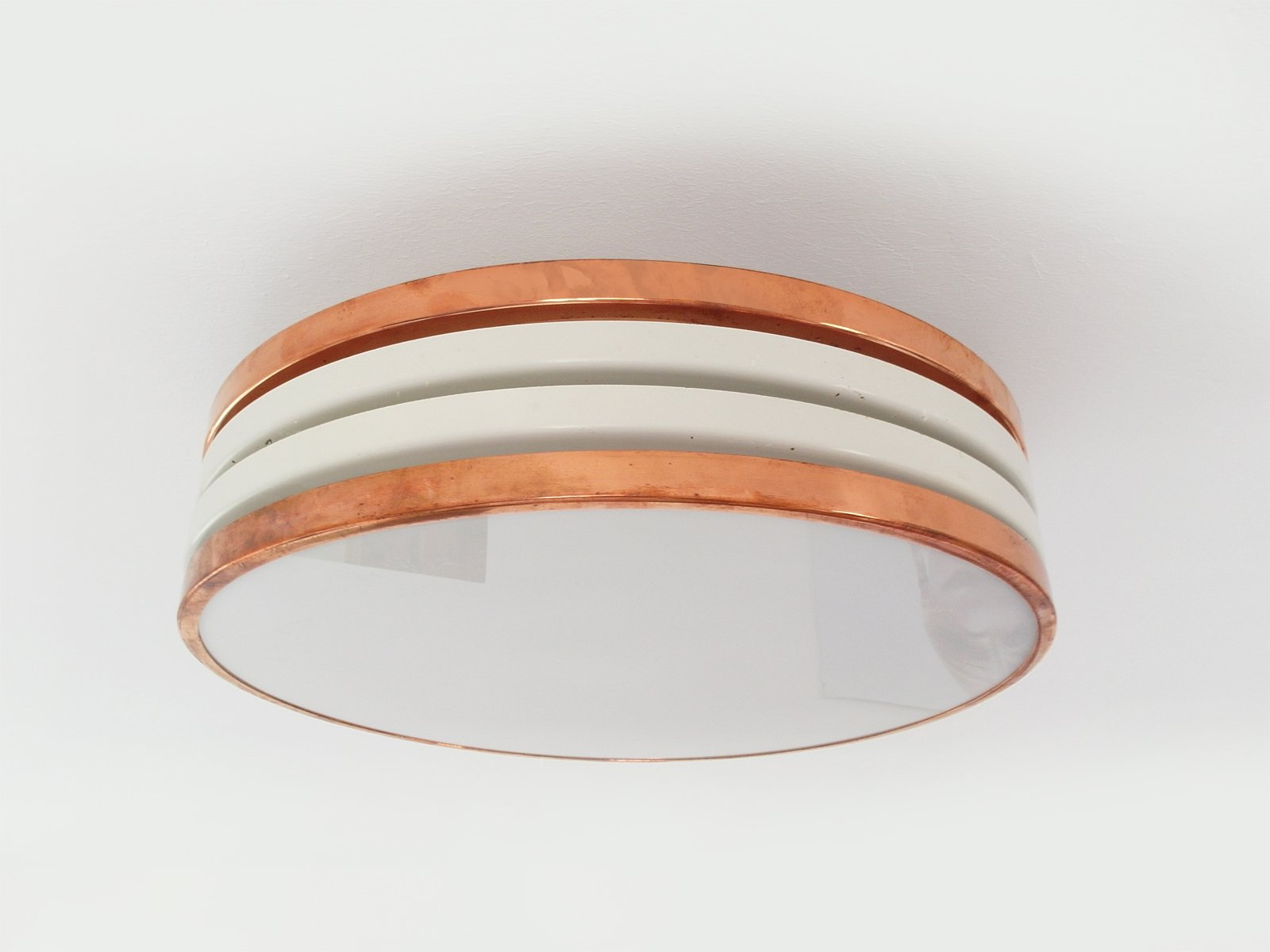 Home Makeover Shows Finnish Copper Amp Plexiglas Flush Mount Ceiling Light From