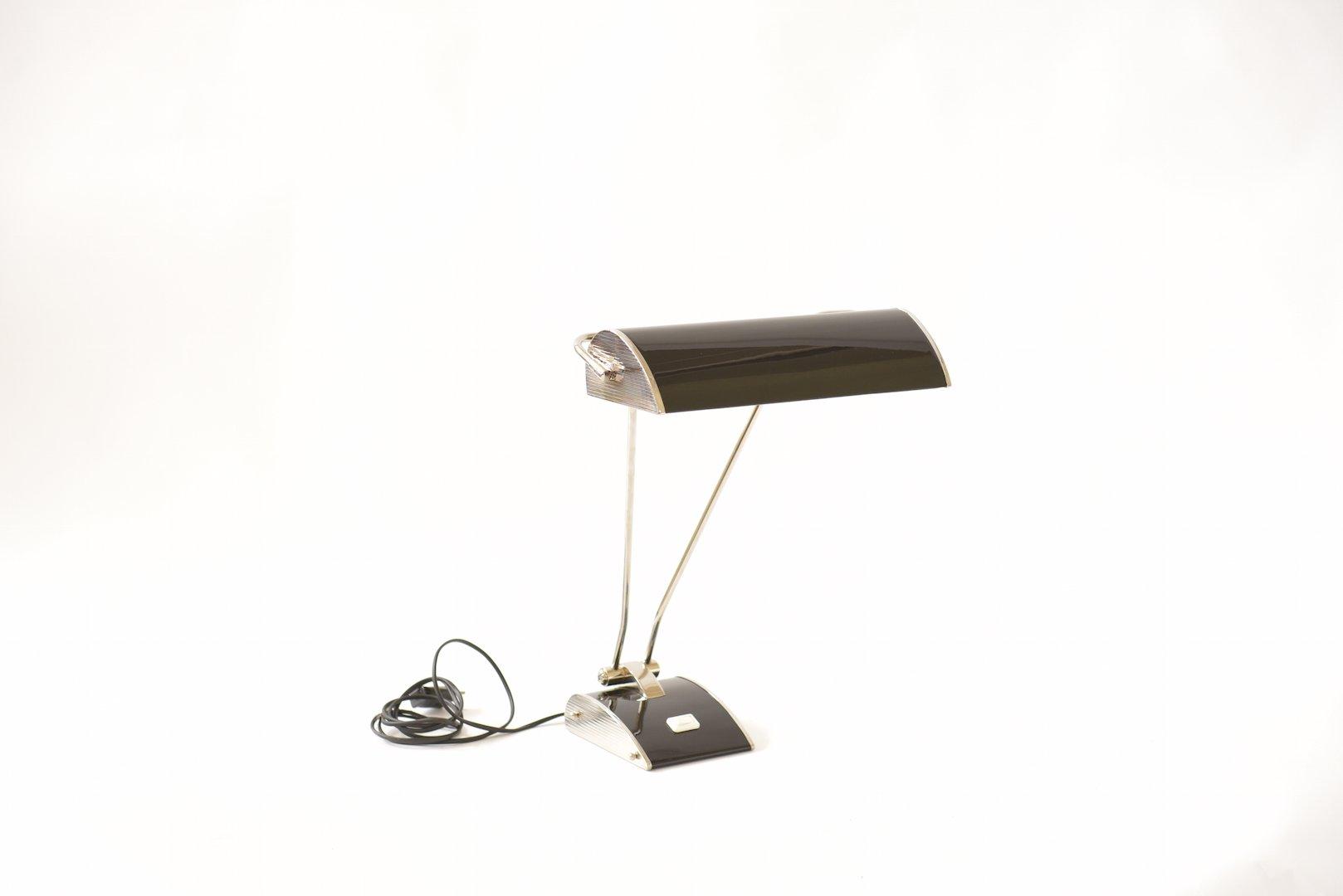 lampe de bureau vintage par eileen gray pour jumo france en vente sur pamono. Black Bedroom Furniture Sets. Home Design Ideas