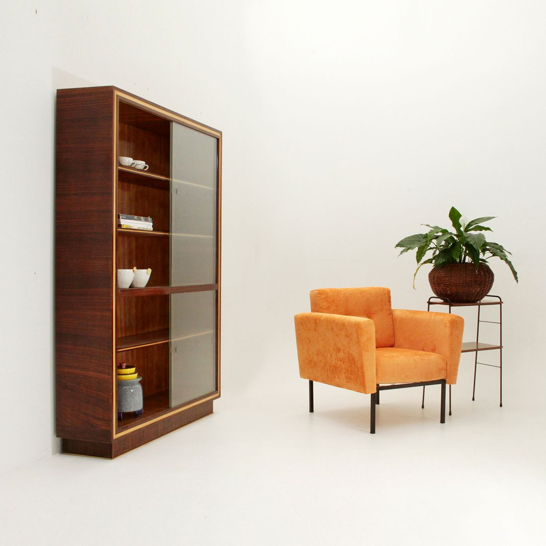 Damaged Kitchen Cabinets For Sale: Italian Rationalist Cabinet, 1940s For Sale At Pamono