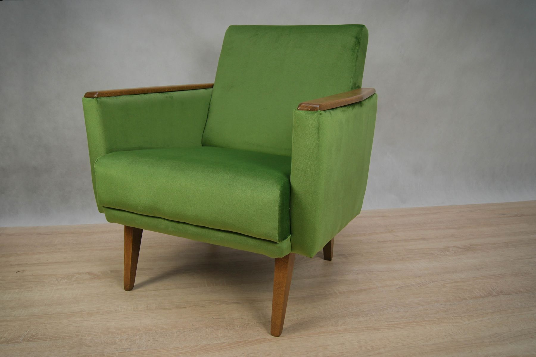 german green armchairs 1960s set of 2 for sale at pamono