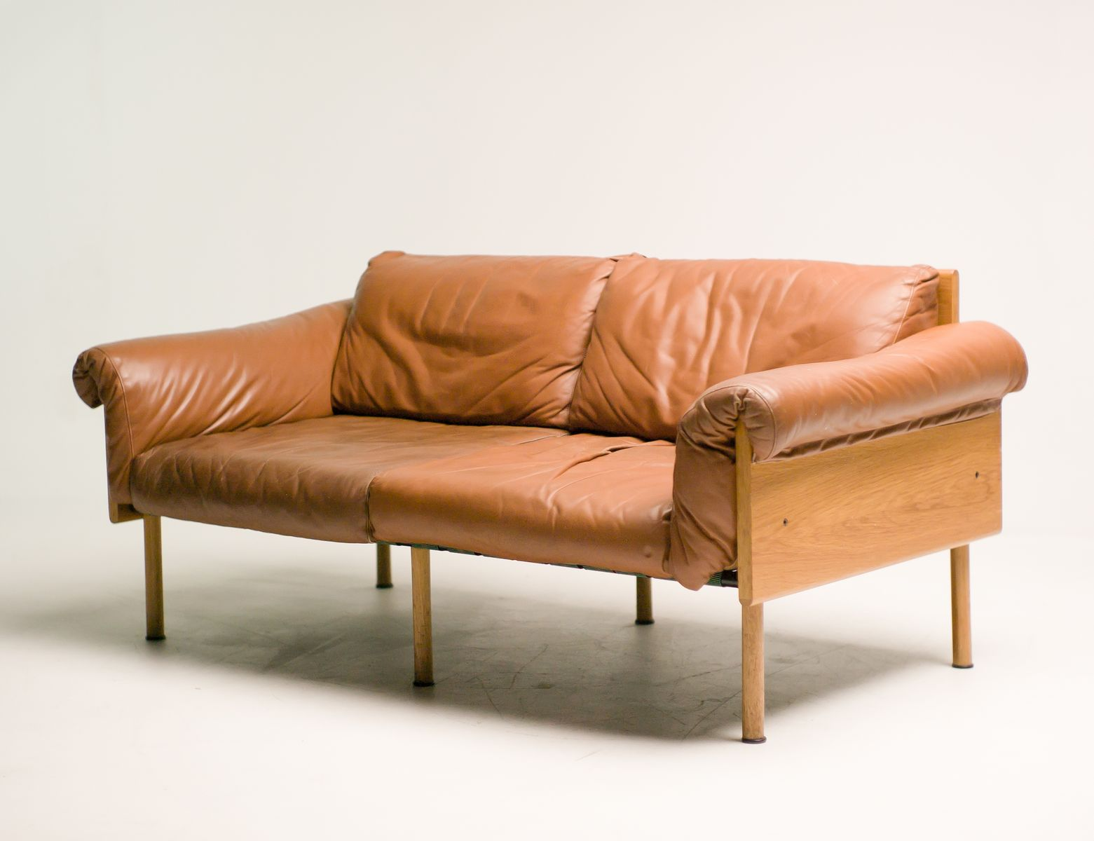 zwei sitzer vintage ateljee sofa von yrj kukkapuro f r haimi bei pamono kaufen. Black Bedroom Furniture Sets. Home Design Ideas