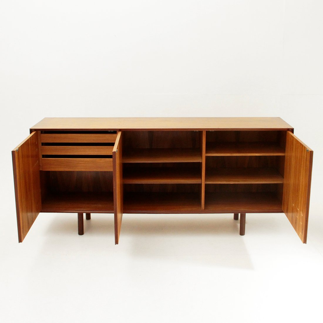 Mid century italian sideboard 1960s for sale at pamono for Sideboard 2 m breit