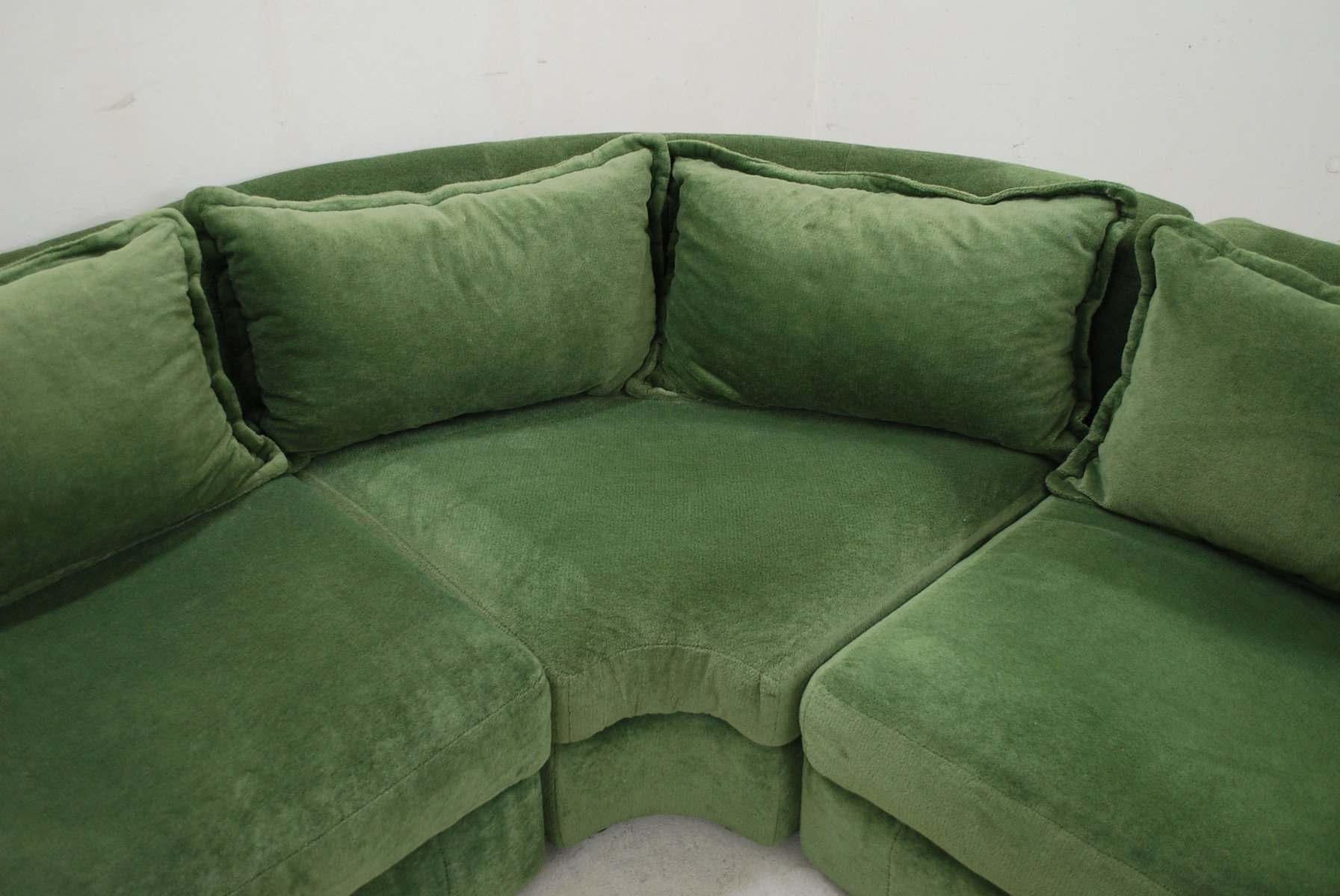 Vintage green modular sofa from rolf benz for sale at pamono Rolf benz 322 sofa