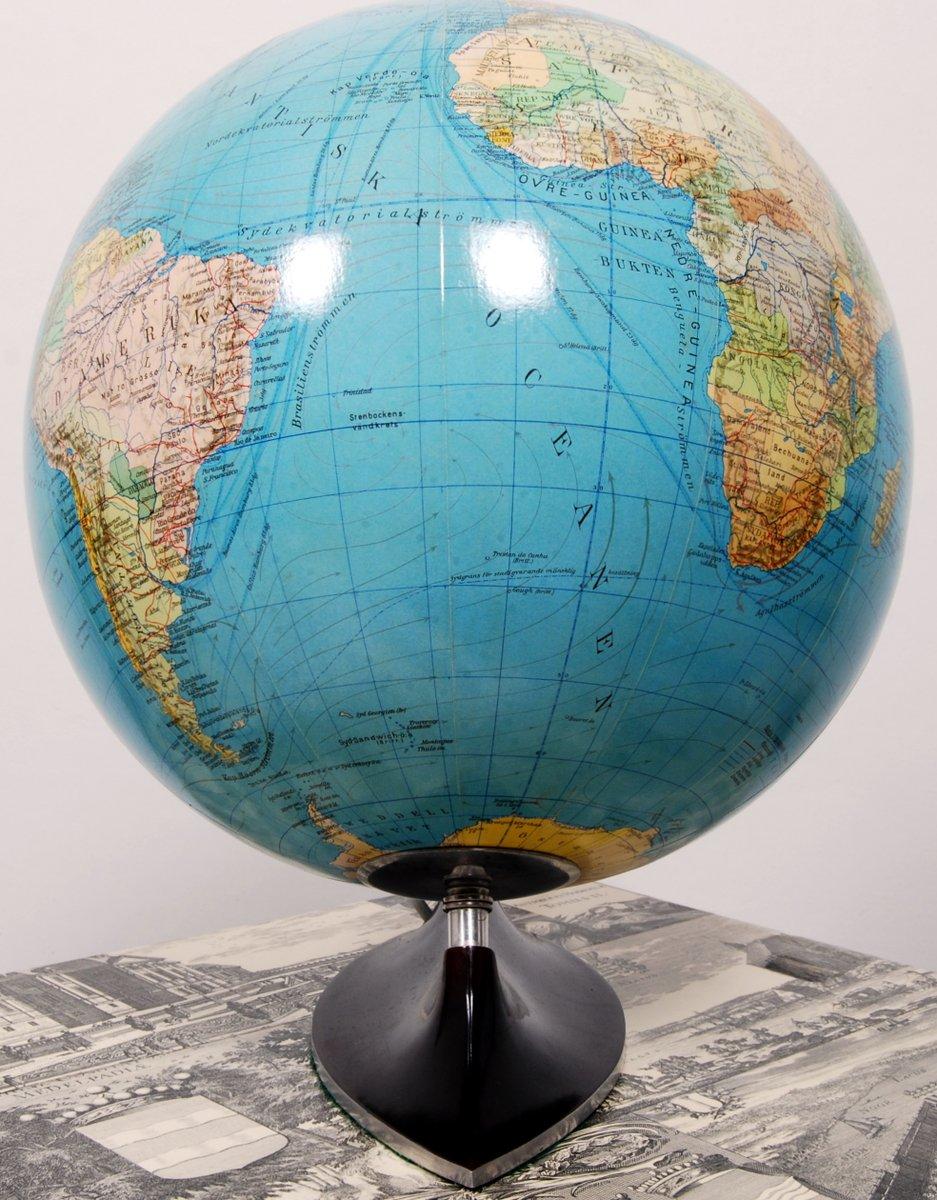 beleuchteter deutscher globus von columbus 1950er bei. Black Bedroom Furniture Sets. Home Design Ideas