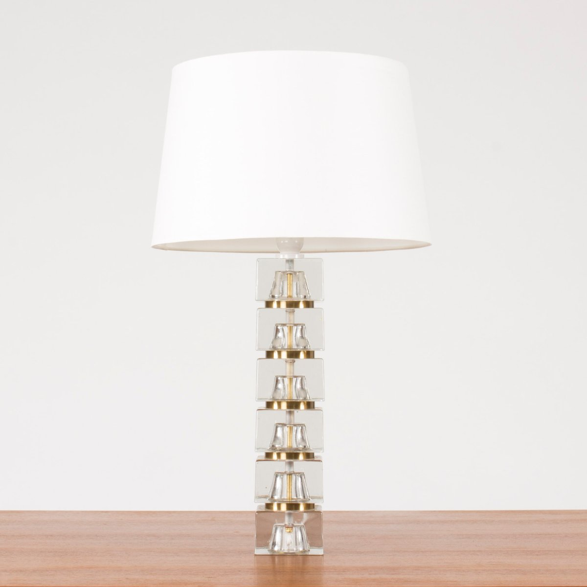 Swedish glass base table lamp 1960s for sale at pamono swedish glass base table lamp 1960s aloadofball Image collections