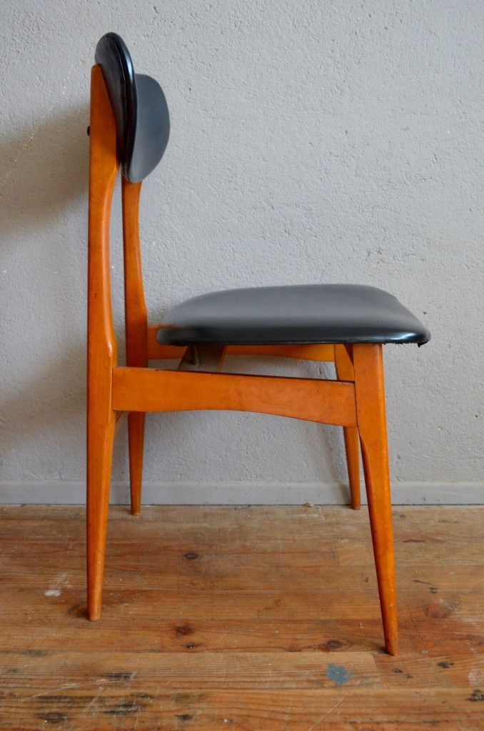 Mid Century French Modernist Chairs Set Of 4 For Sale At Pamono
