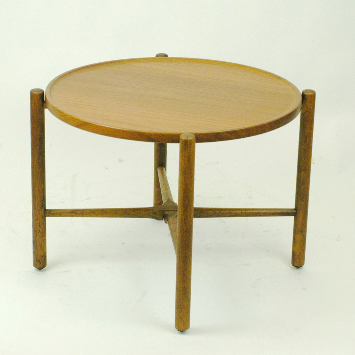 Vintage Danish Teak Coffee Table By Hans Wegner For Andreas Tuck For Sale At Pamono