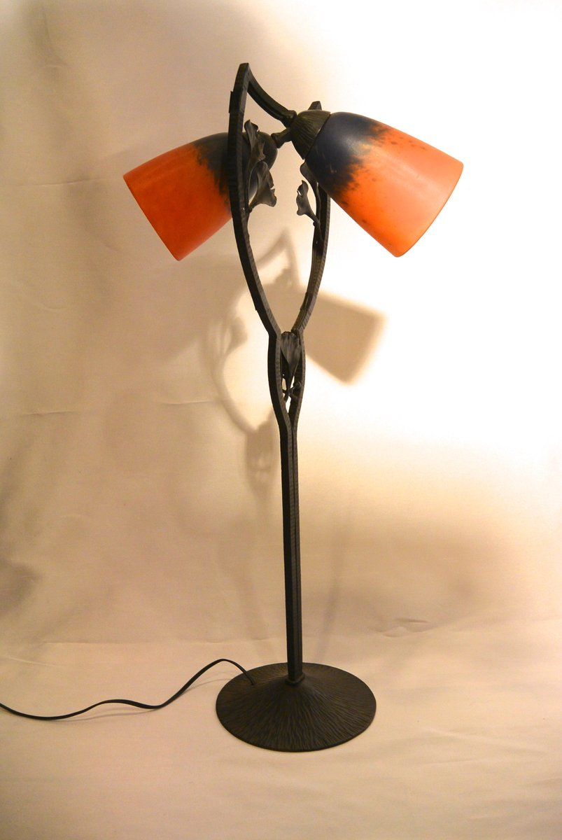 Art Deco Table Lamp From Schneider, 1926