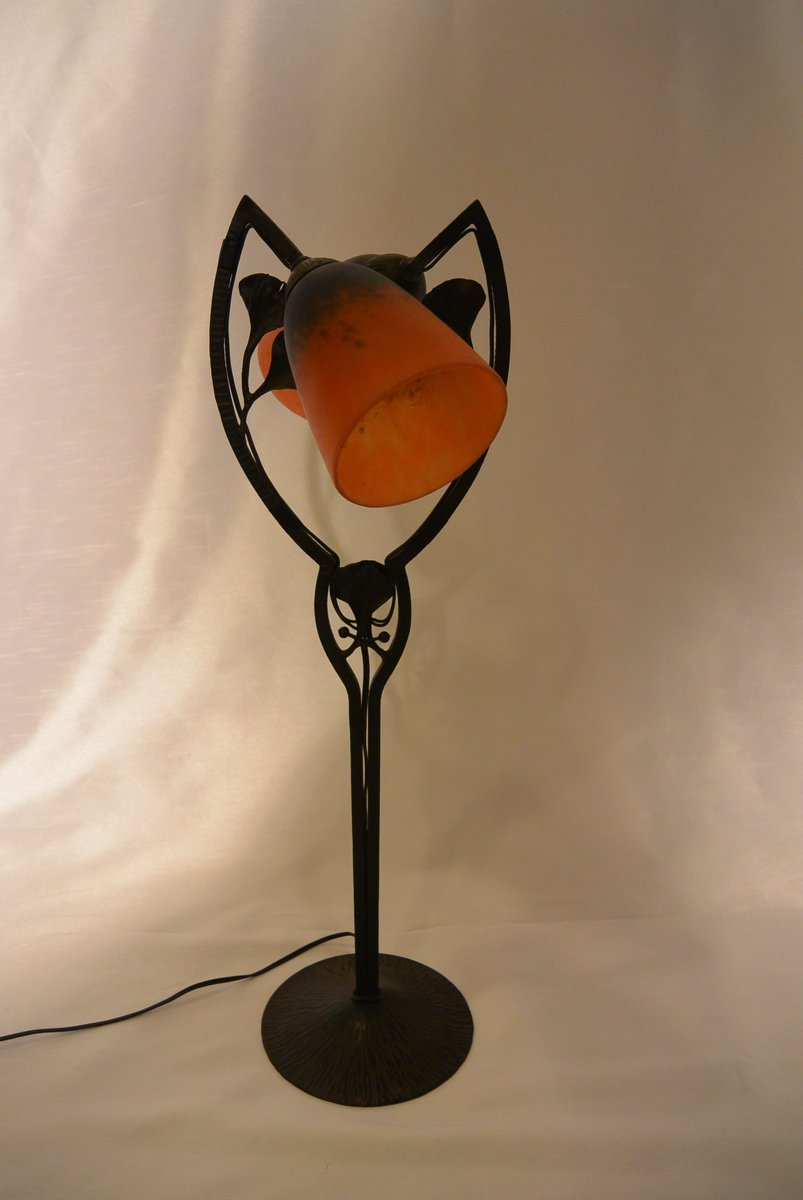 Art deco table lamp from schneider 1926 for sale at pamono geotapseo Images