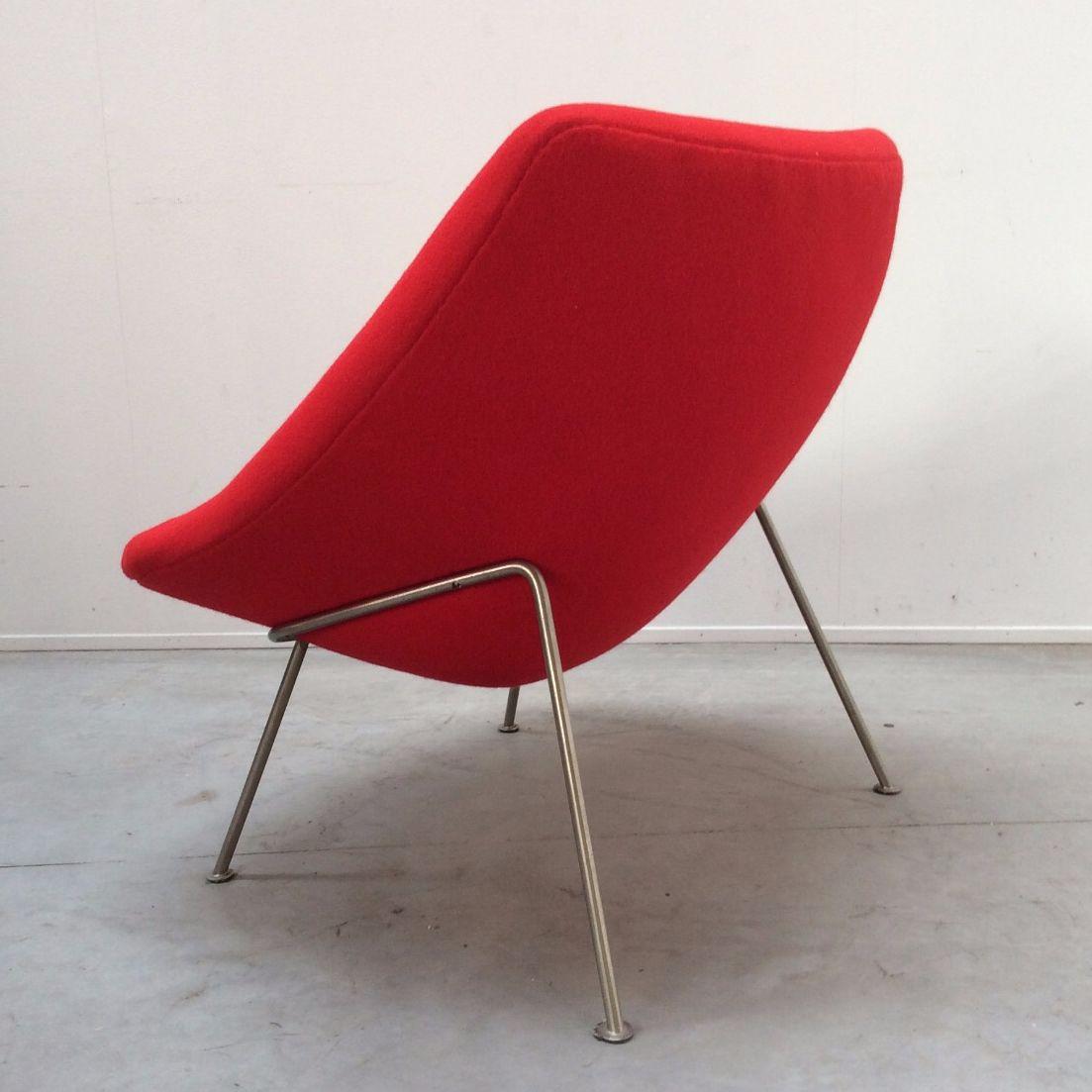 chaise oyster vintage par pierre paulin pour artifort pays bas en vente sur pamono. Black Bedroom Furniture Sets. Home Design Ideas