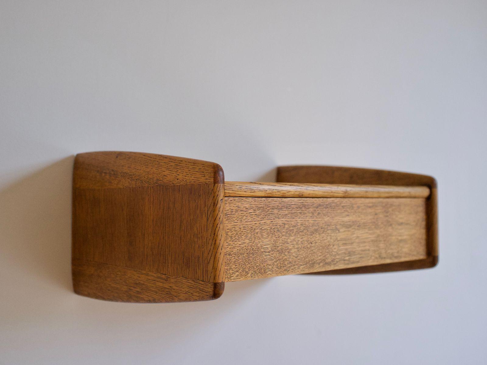 Wall Hung Bedside Tables Danish Wallmounted Bedside Tablesmelvin Mikkelsen 1960S Set