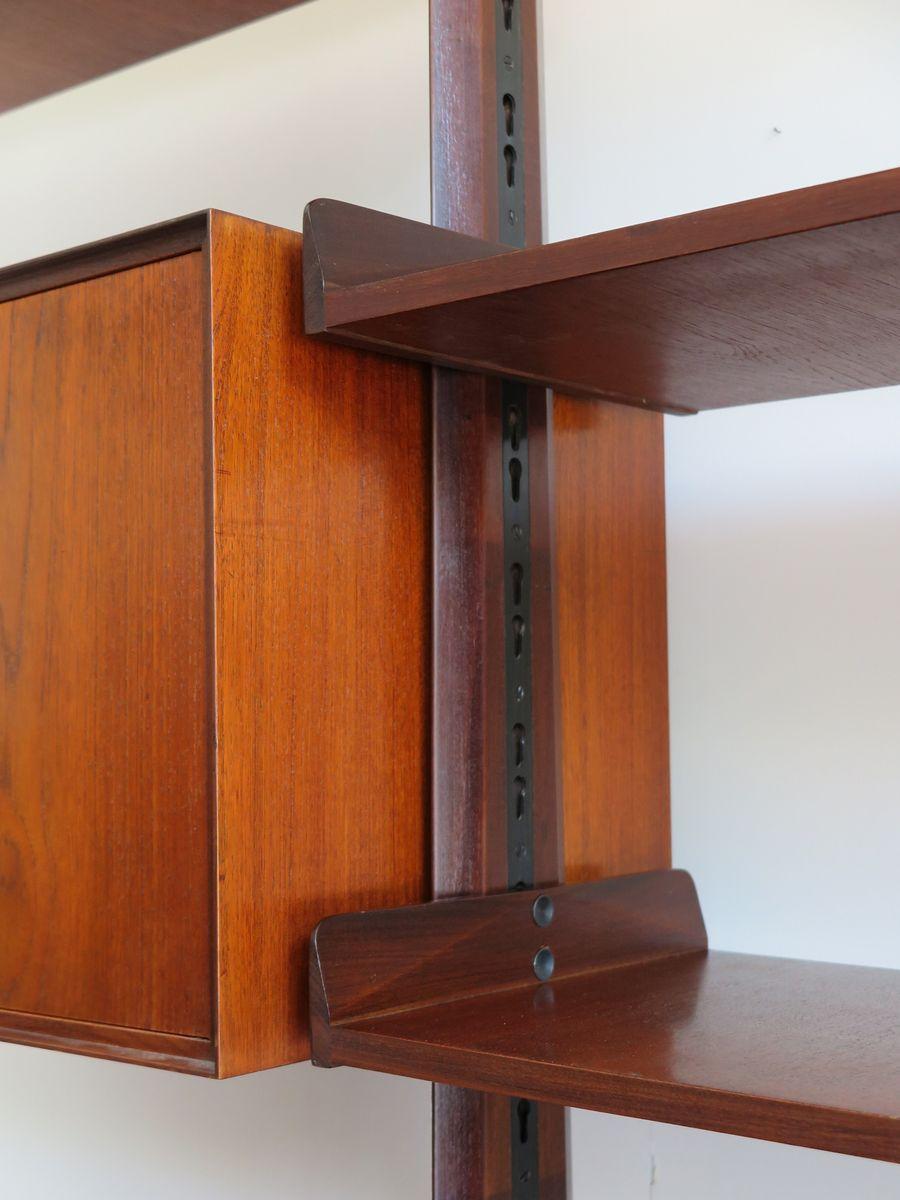 b cherregal system von edmondo palutari f r vittorio dassi 1950er bei pamono kaufen. Black Bedroom Furniture Sets. Home Design Ideas