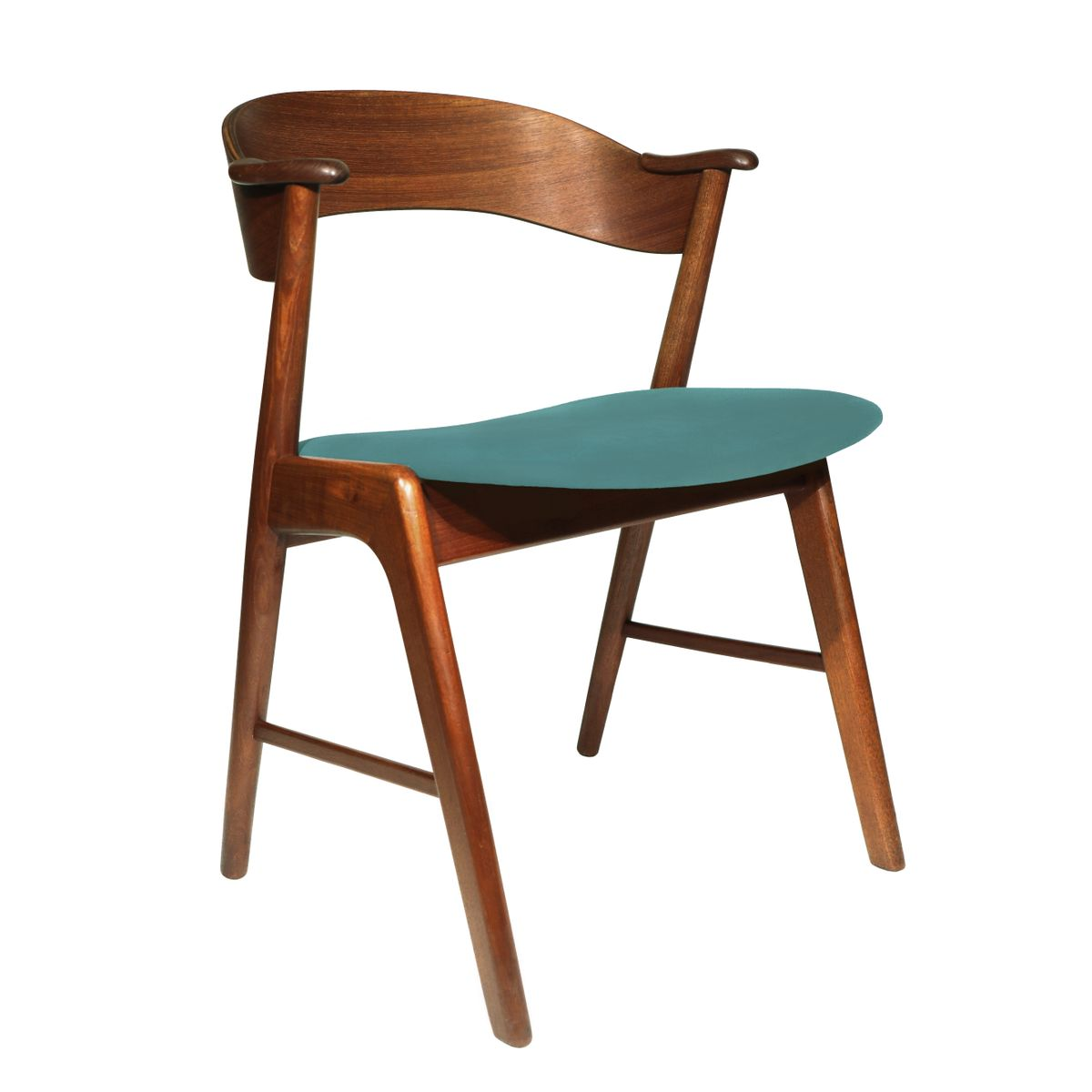 D nischer mid century modell 32 stuhl von kai kristiansen f r schou andersen 1960er bei pamono - Mid century stuhl ...
