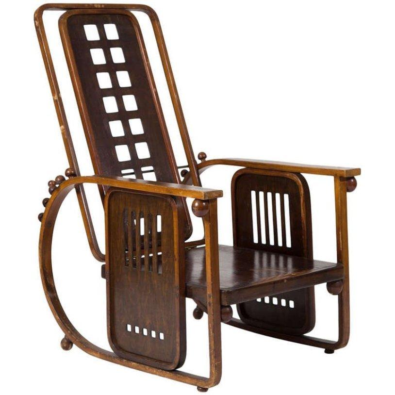 sitzmaschine sessel von josef hoffmann f r j j kohn 1908 bei pamono kaufen. Black Bedroom Furniture Sets. Home Design Ideas
