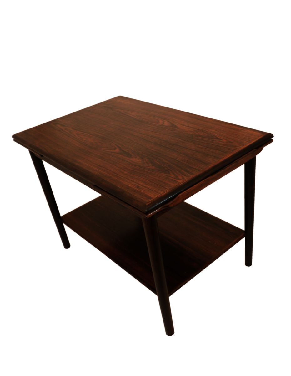 Danish Mid Century Expandable Rosewood Coffee Table 1960s For Sale At Pamono