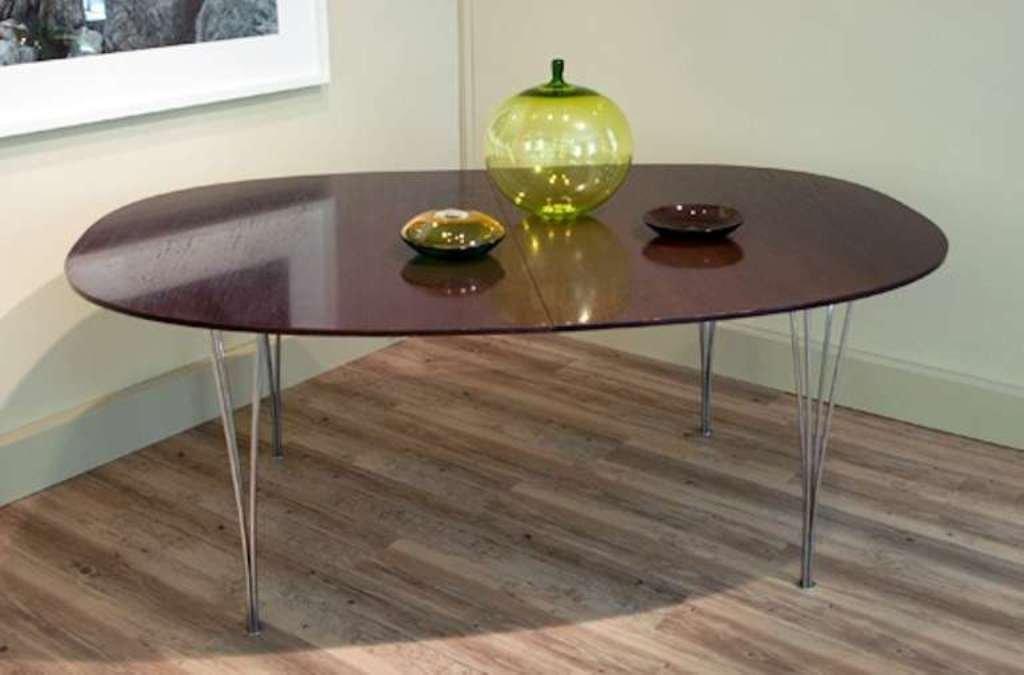 tavolo da pranzo superellips in wengé di bruno mathsson & piet ... - Tavolo Soggiorno Wenge 2