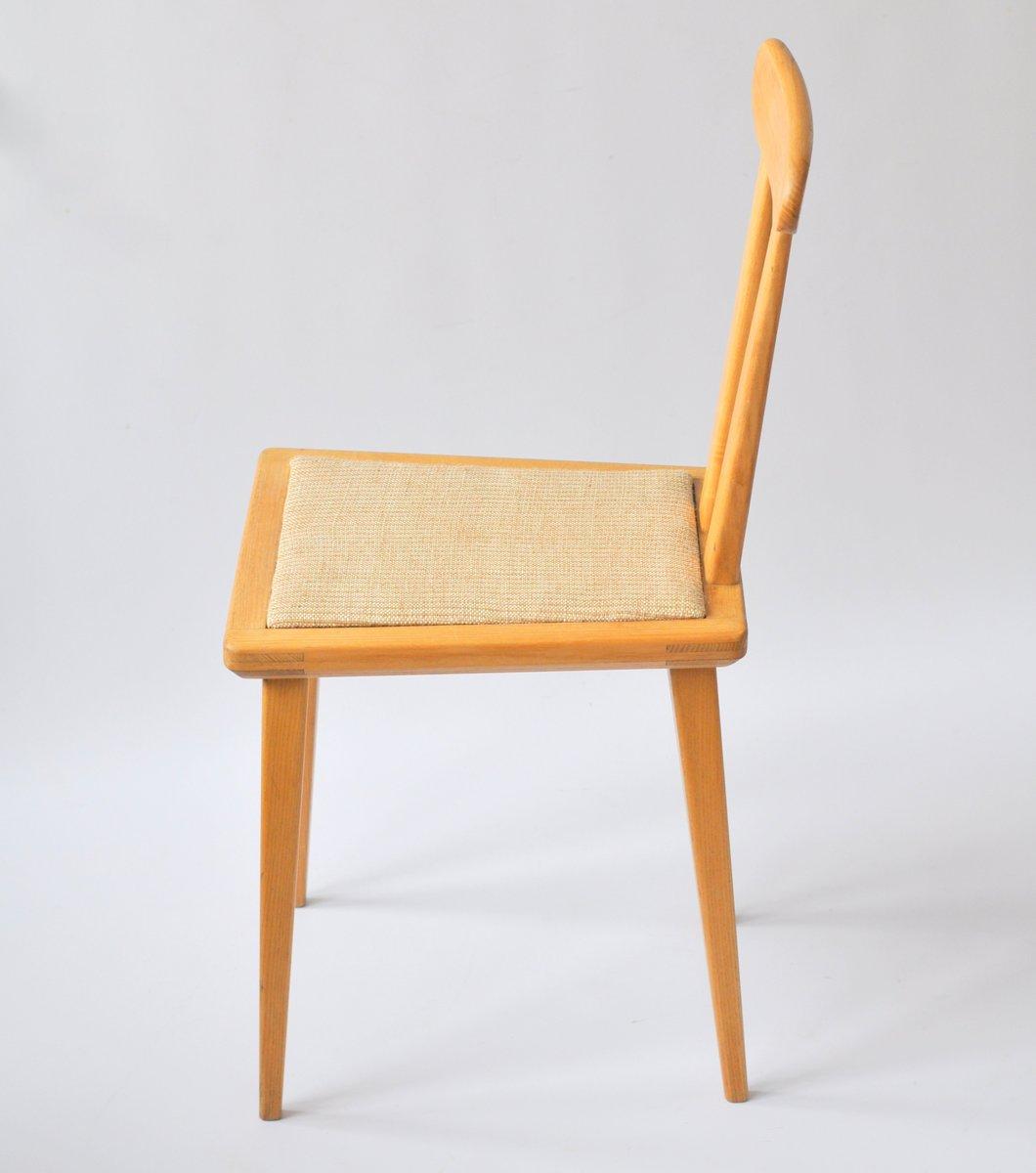 polnische esszimmerst hle von franciszek aplewicz f r ad 1960er 4er set bei pamono kaufen. Black Bedroom Furniture Sets. Home Design Ideas