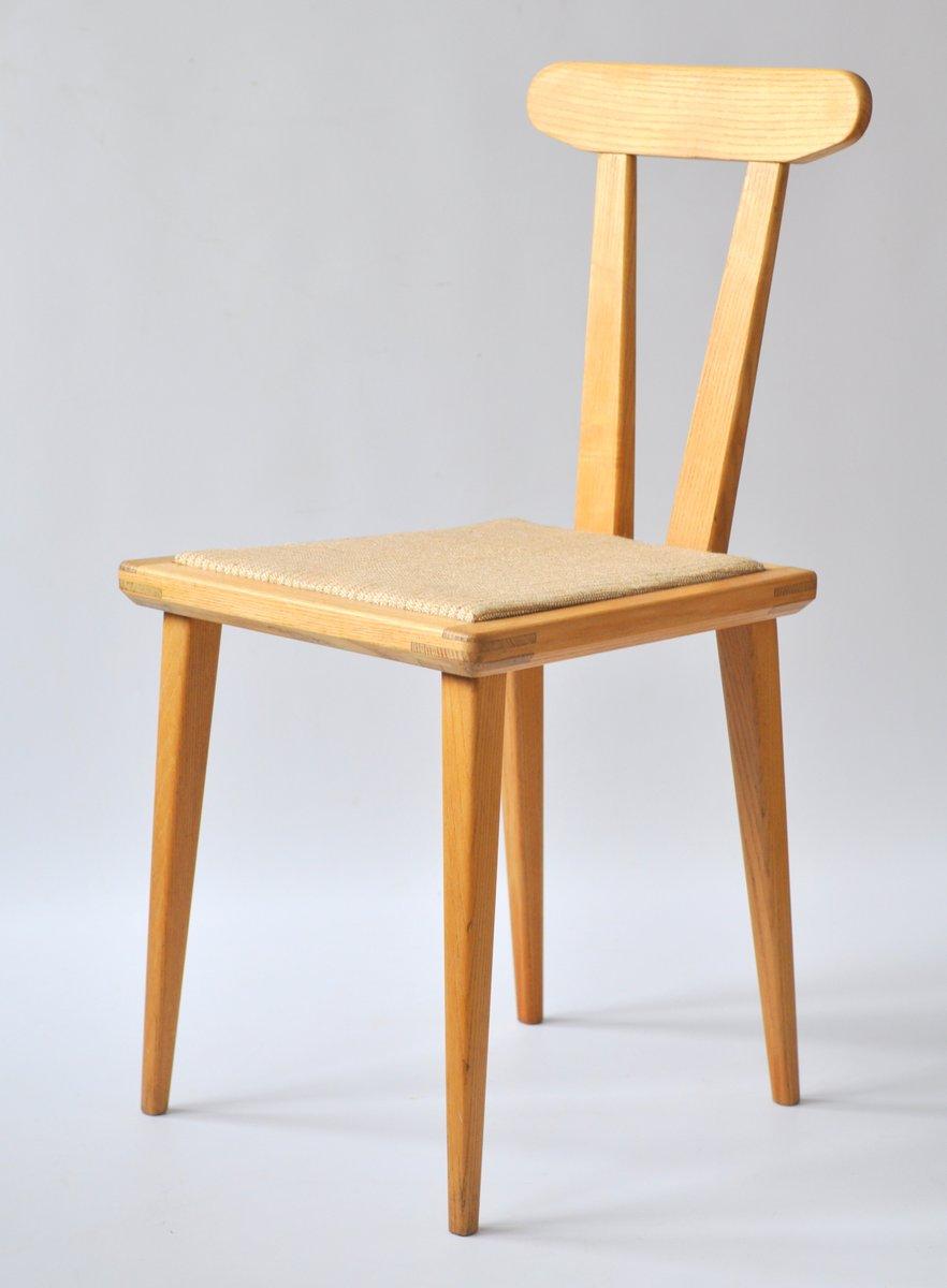 Polish dining chairs by franciszek aplewicz for Ład s