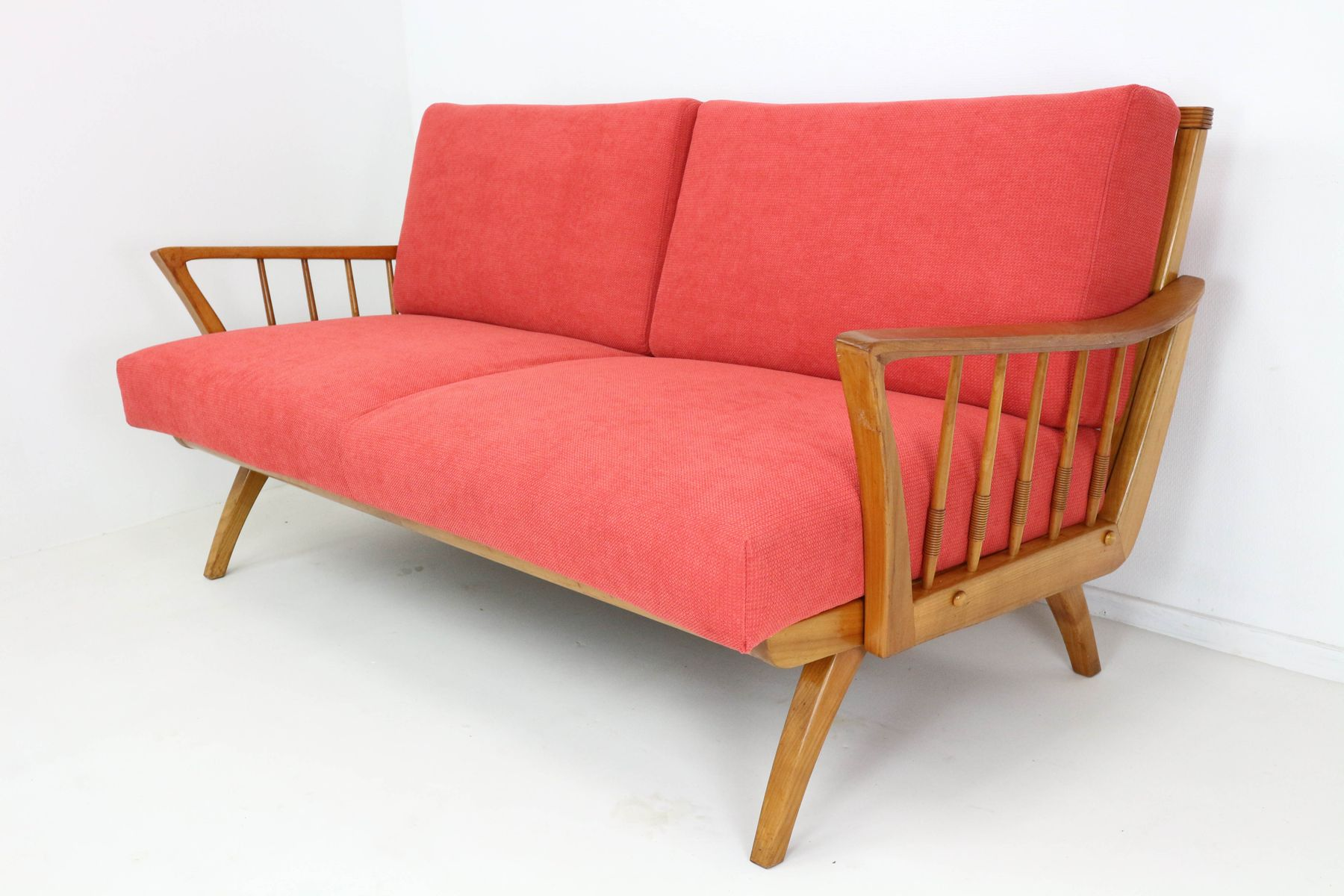 antimott sofa or daybed from walter knoll 1950s for sale at pamono. Black Bedroom Furniture Sets. Home Design Ideas