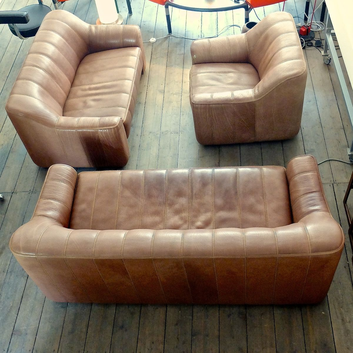 Vintage Swiss Ds 44 2 Seater Sofa From De Sede For Sale At