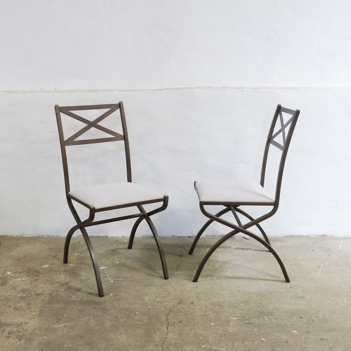 Vintage french dining set with table and 4 chairs by for Retro dining table and chairs australia