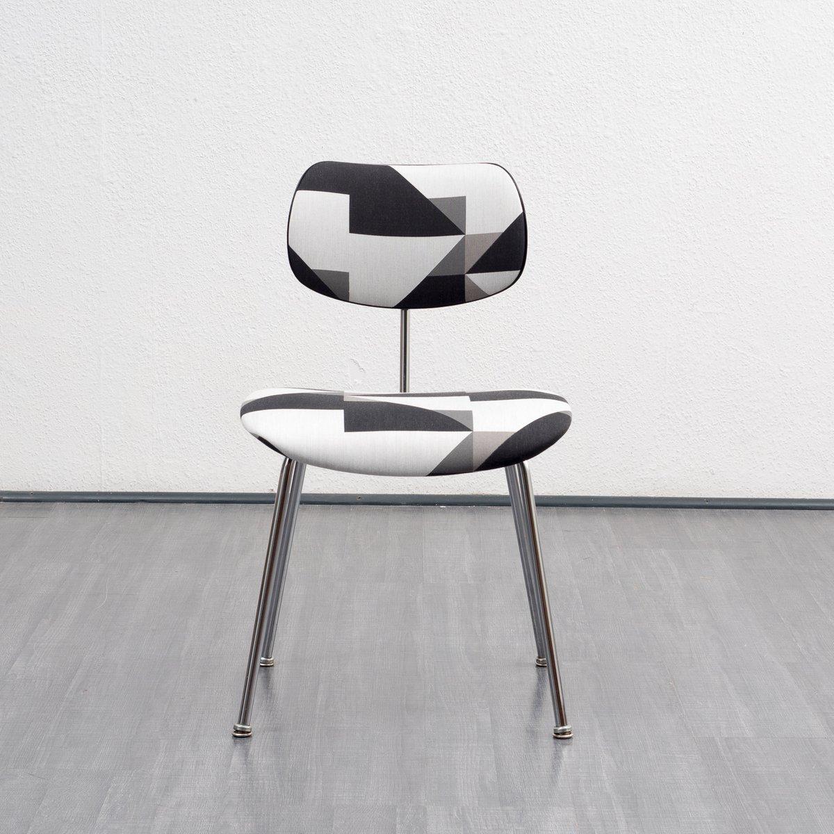 mid century se 68 stuhl von egon eiermann f r wilde. Black Bedroom Furniture Sets. Home Design Ideas