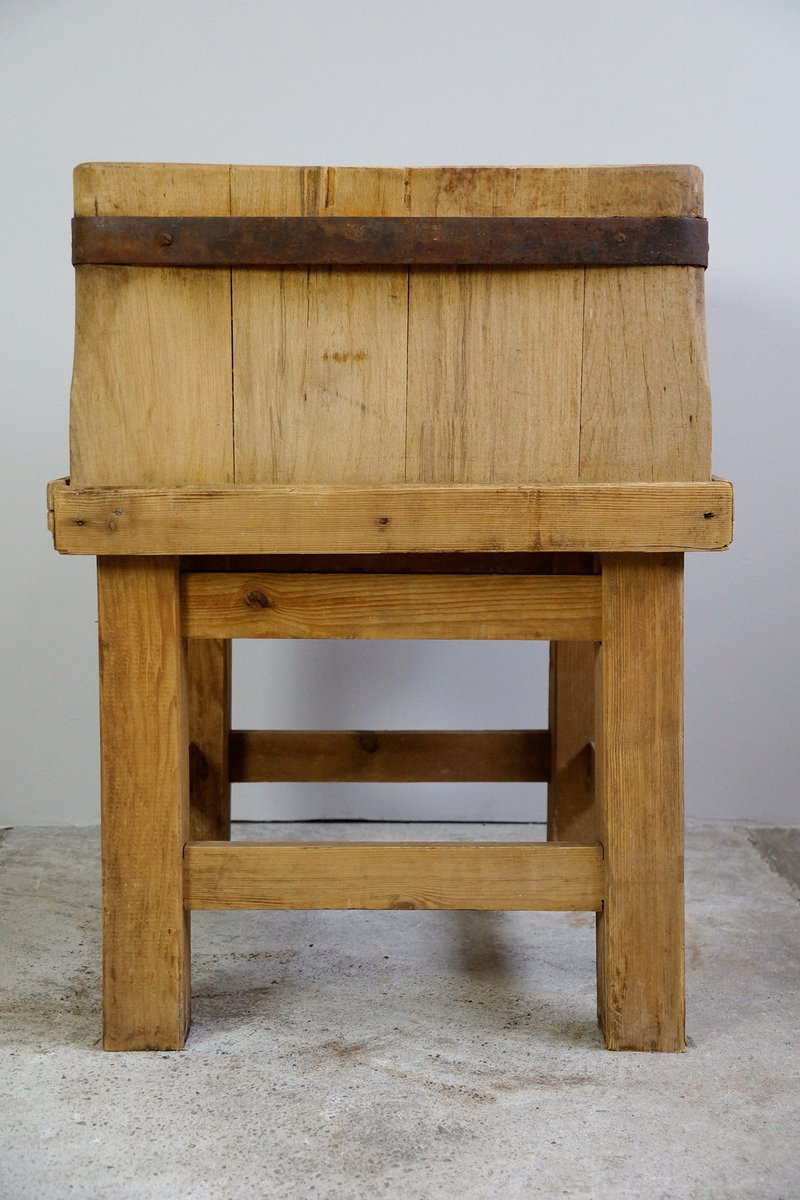 Large butcher 39 s block 1930s for sale at pamono for Butcher block manufacturers