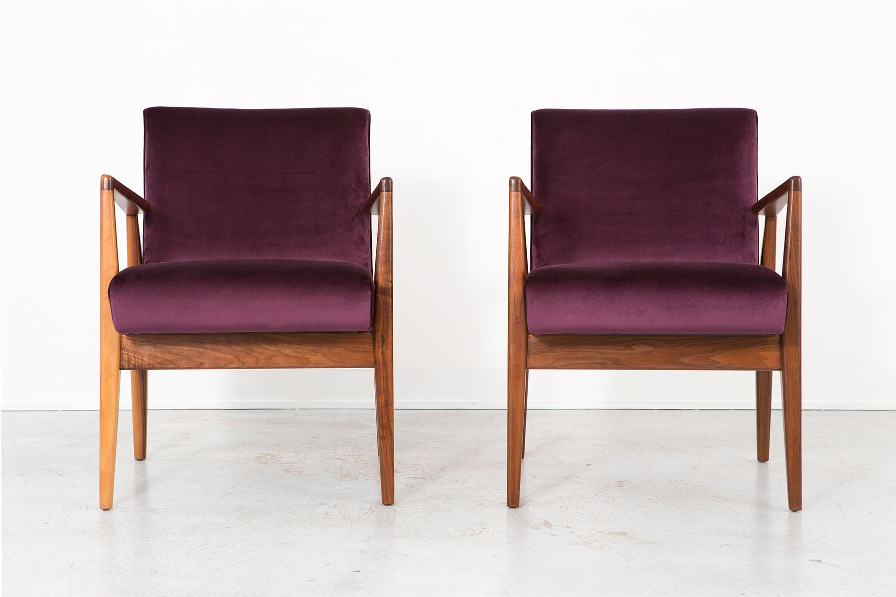 Jens Risom Side Chair Vintage Lounge Chairs By Jens Risom Set Of 2 For Sale At Pamono