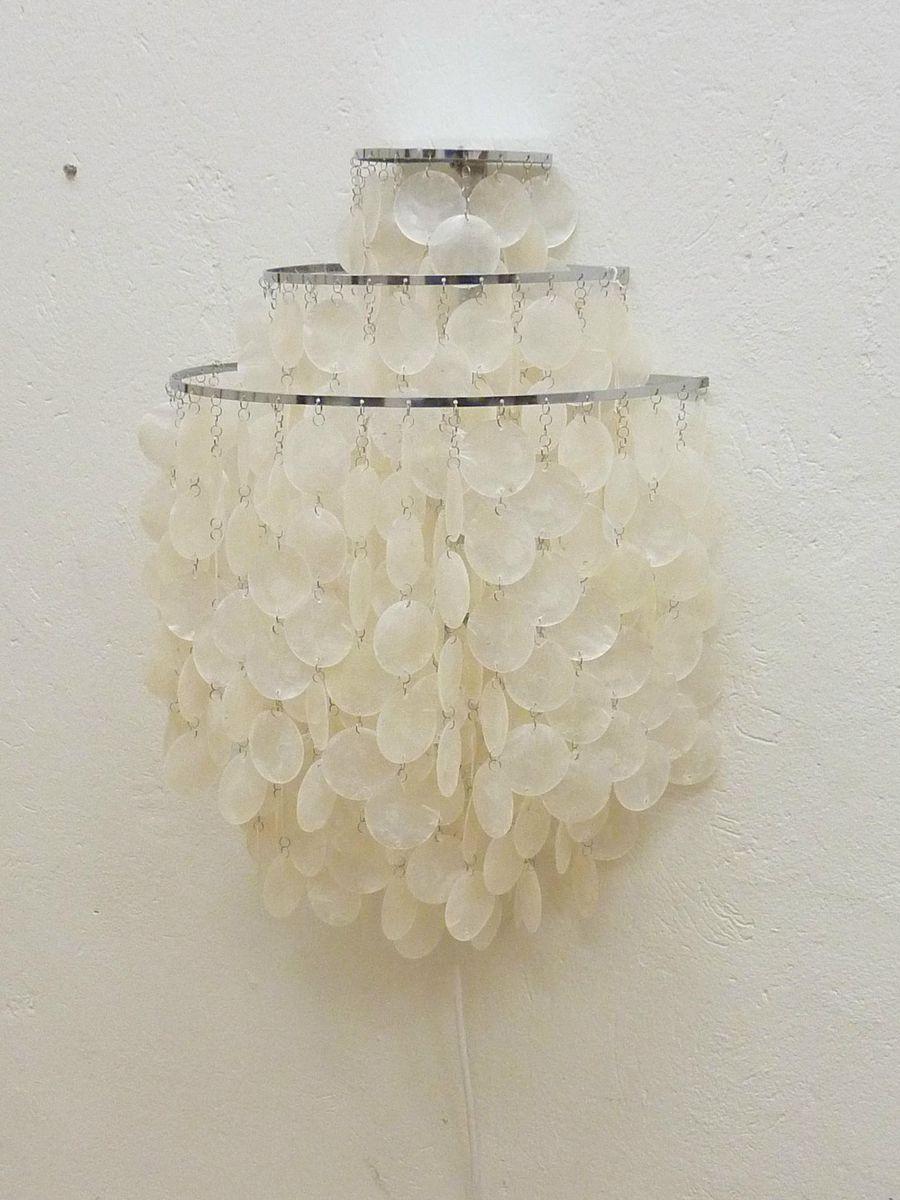 Fun Lamp vintage fun 1 wm mother of pearl wall lampverner panton for