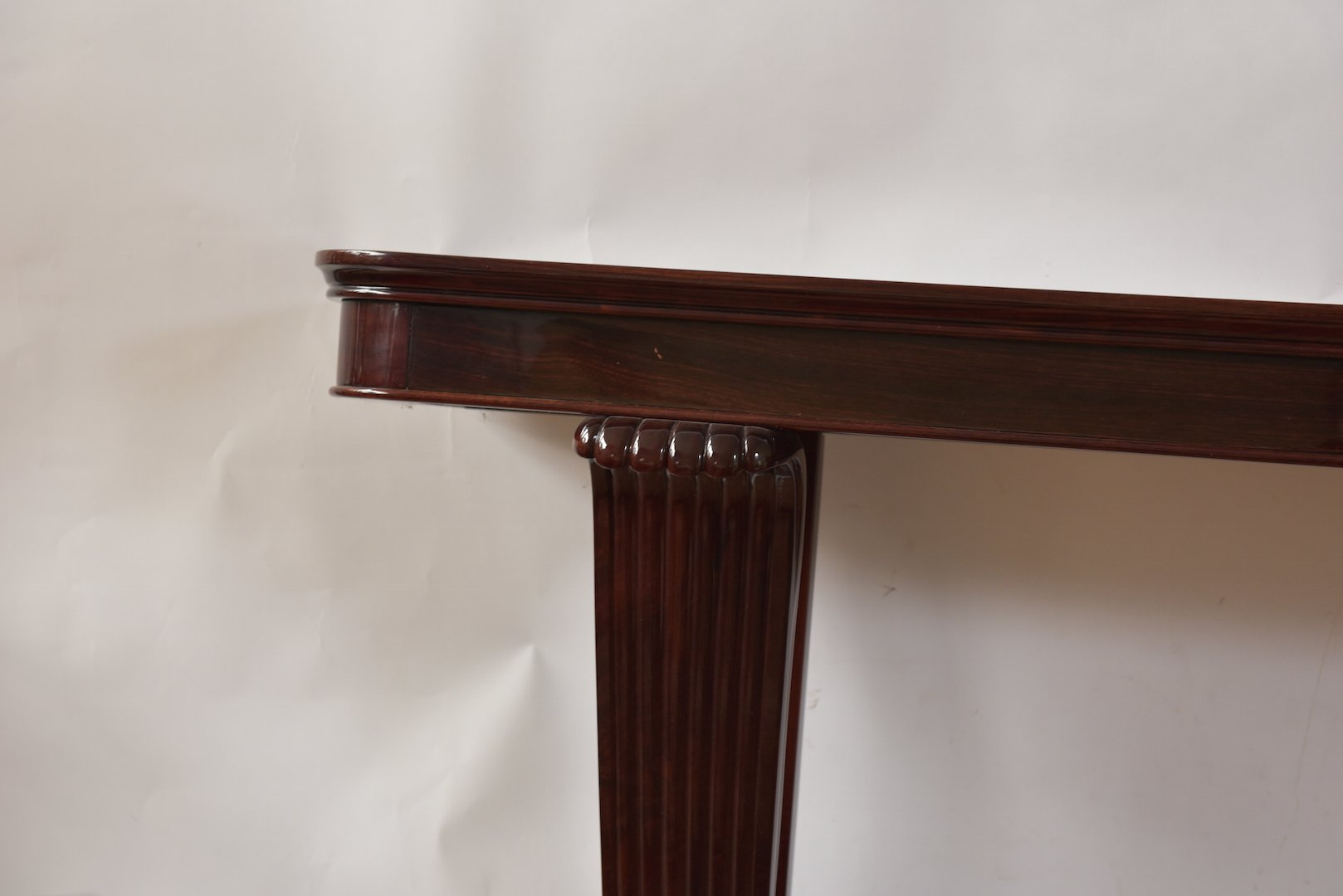 art deco rosewood console table for sale at pamono. Black Bedroom Furniture Sets. Home Design Ideas
